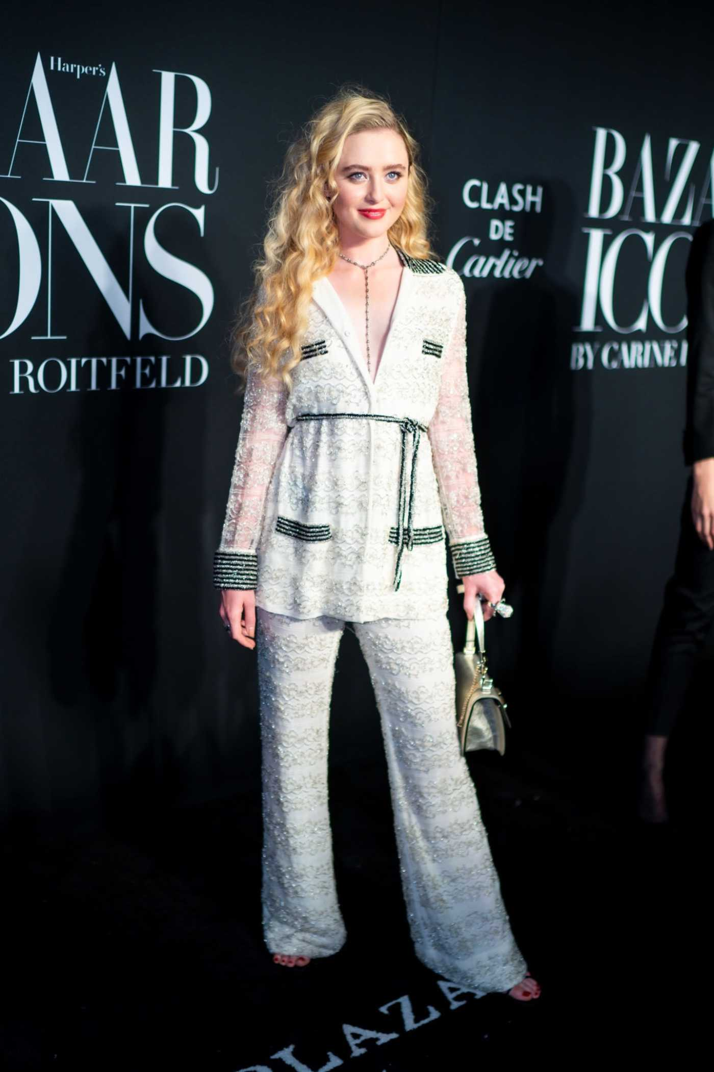 Kathryn Newton Attends Harper's Bazaar Icons Party in New York 09/06/2019