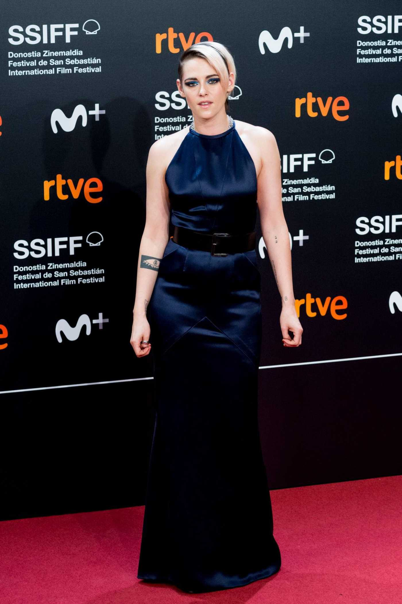 Kristen Stewart Attends Blackbird Premiere During the 67th San Sebastian Film Festival in San Sebastian 09/20/2019