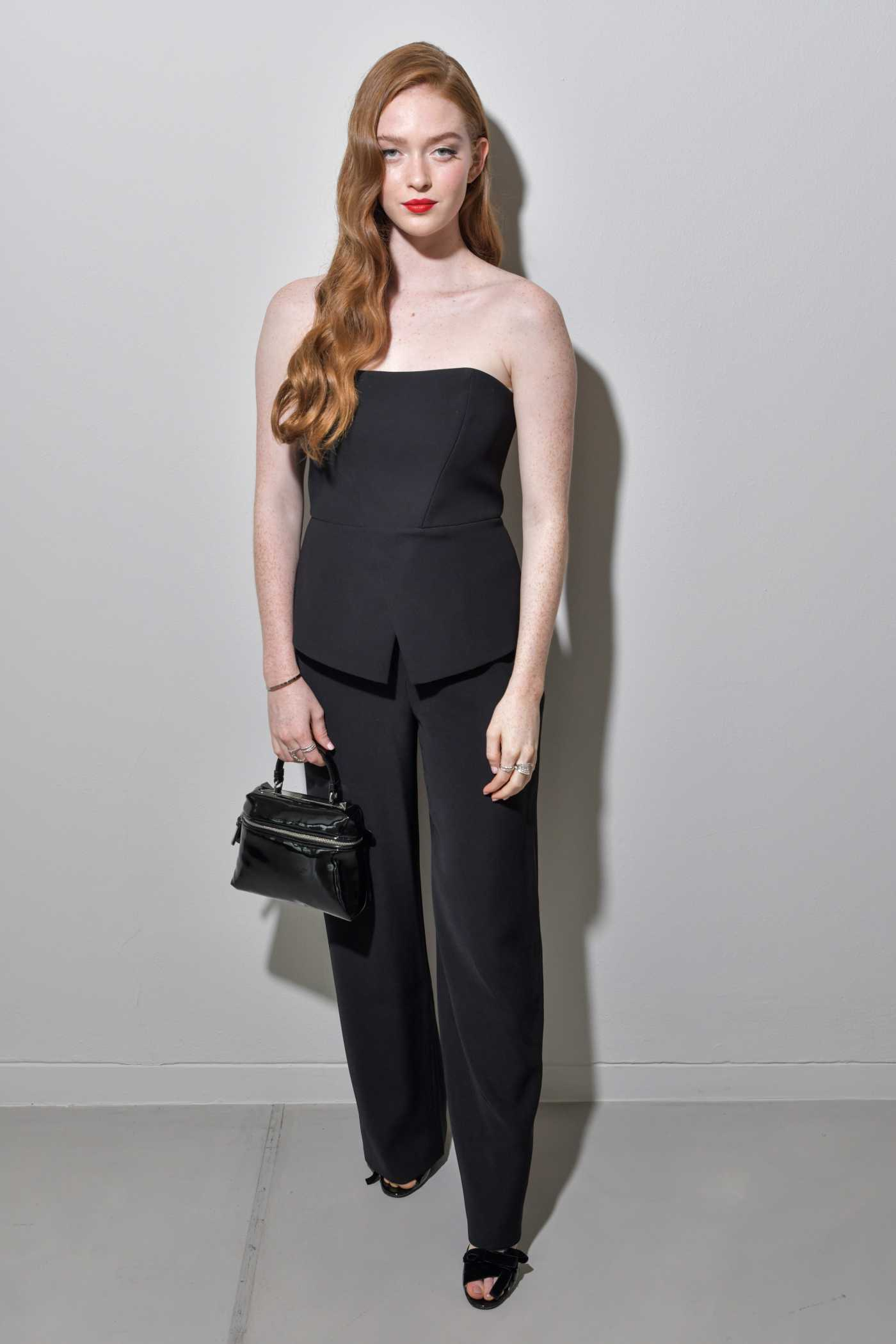 Larsen Thompson Attends the Emporio Armani Fashion Show During 2019 Milan Fashion Week in Milan 09/19/2019