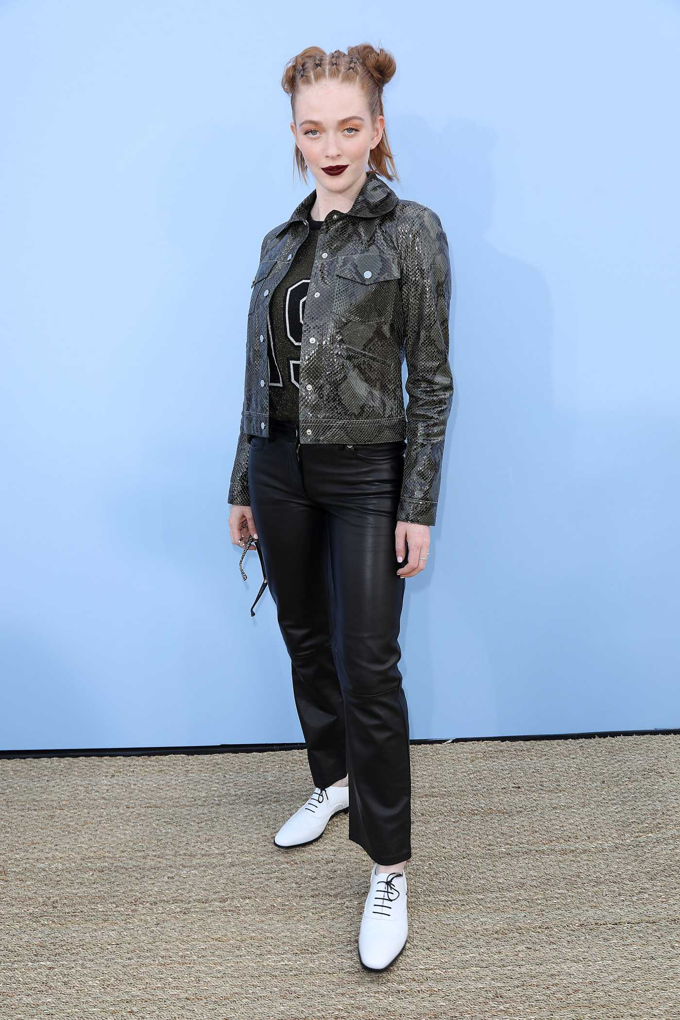 Larsen Thompson Attends the Michael Kors Show During New York Fashion Week in New York 09/11/2019