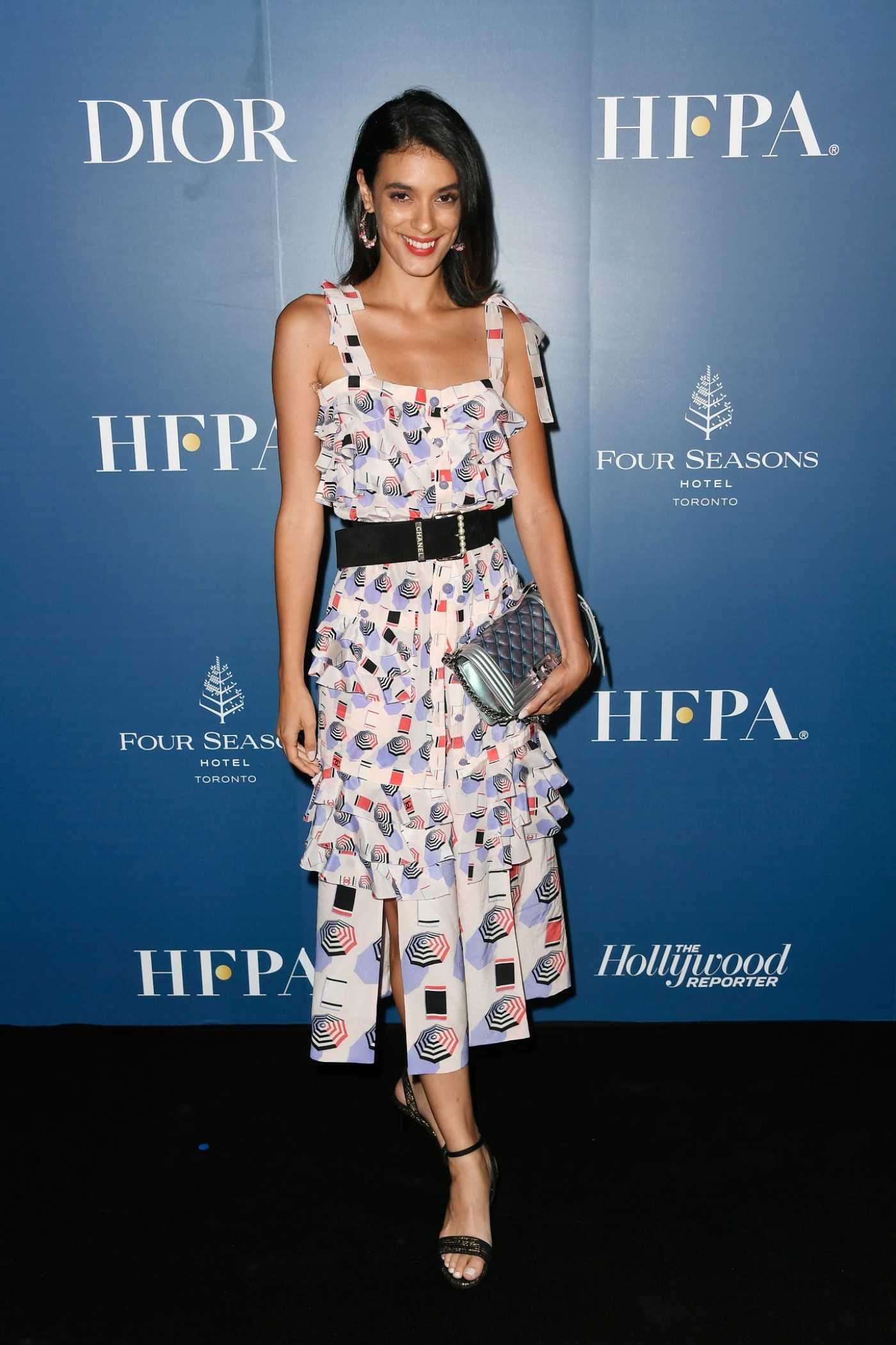 Laysla De Oliveira Attends the HFPA/THR TIFF PARTY During 2019 Toronto International Film Festival in Toronto 09/07/2019