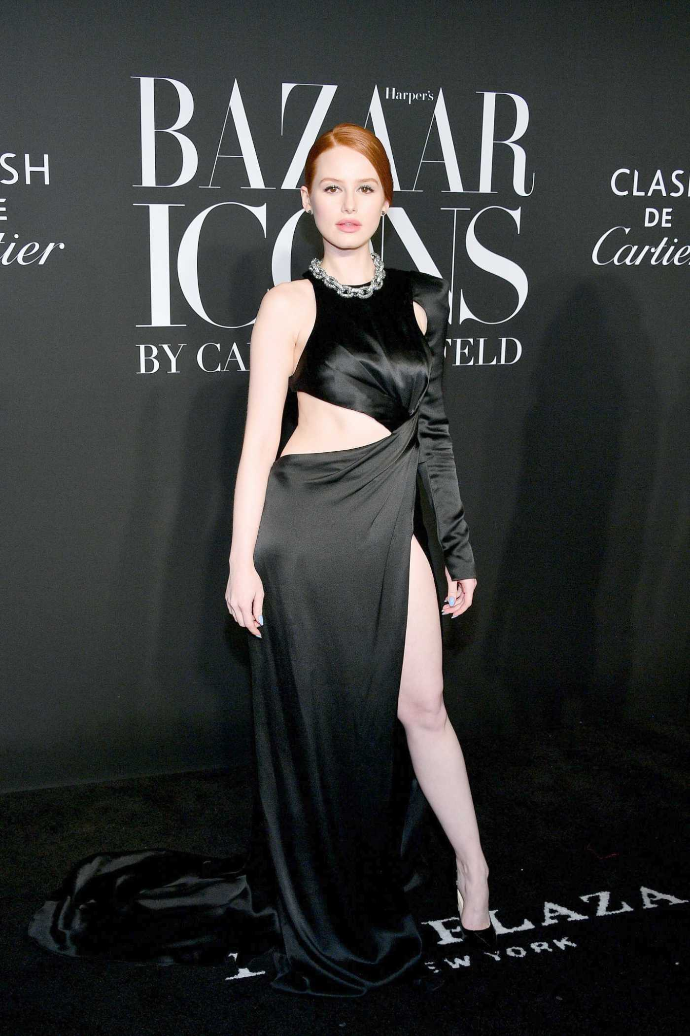 Madelaine Petsch Attends Harper's Bazaar Icons Party in New York 09/06/2019