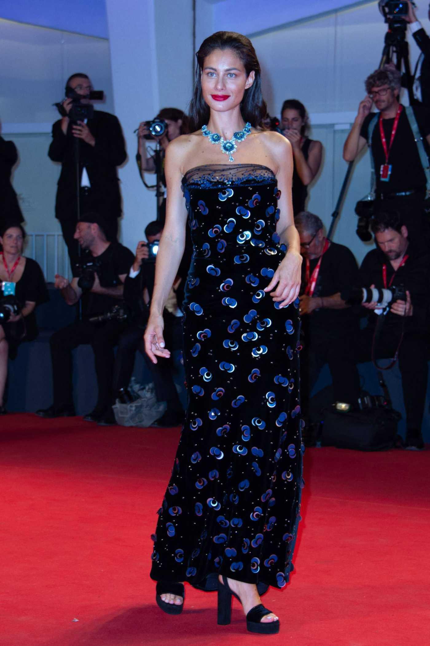 Marica Pellegrinelli Attends Seberg Screening During the 76th Venice Film Festival in Venice 08/30/2019
