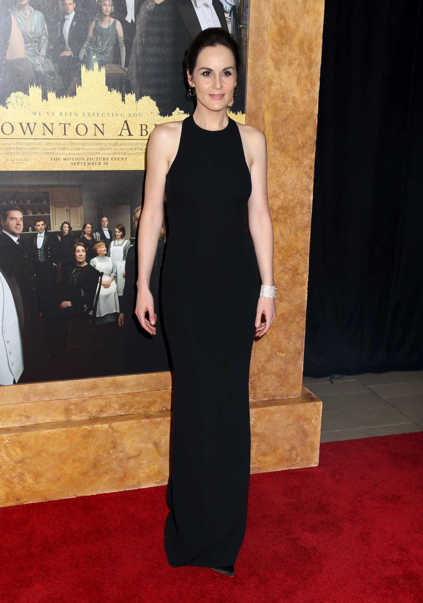 Michelle Dockery Attends Downton Abbey Premiere in New York 09/16/2019