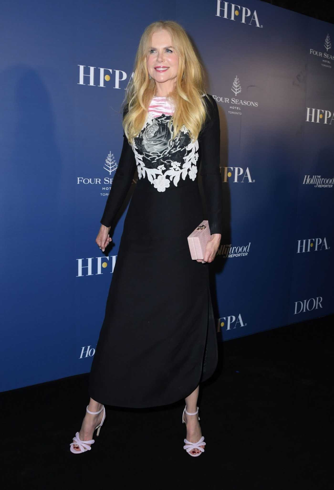 Nicole Kidman Attends the HFPA/THR TIFF PARTY During 2019 Toronto International Film Festival in Toronto 09/07/2019