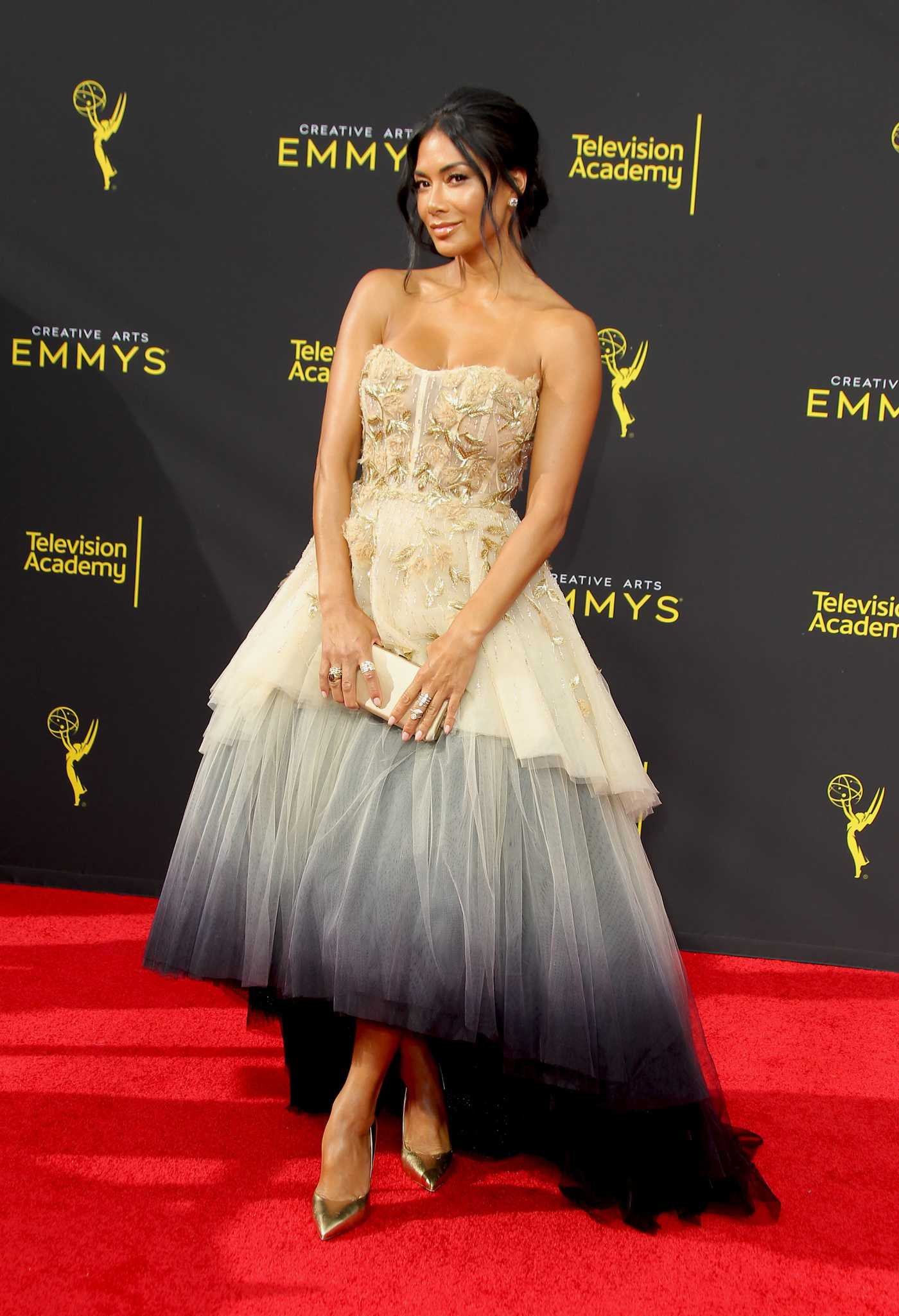 Nicole Scherzinger Attends 2019 Creative Arts Emmy at the Microsoft Theatre in Los Angeles 09/14/2019