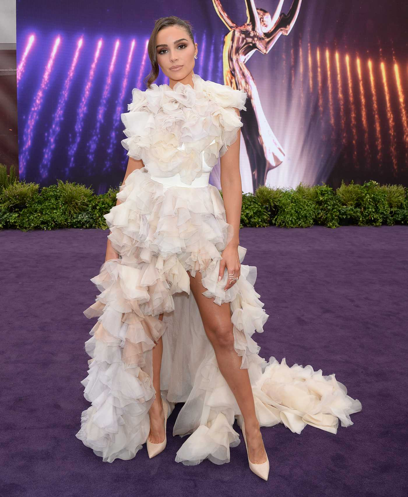 Olivia Culpo Attends the 71st Emmy Awards at Microsoft Theater in Los Angeles 09/22/2019