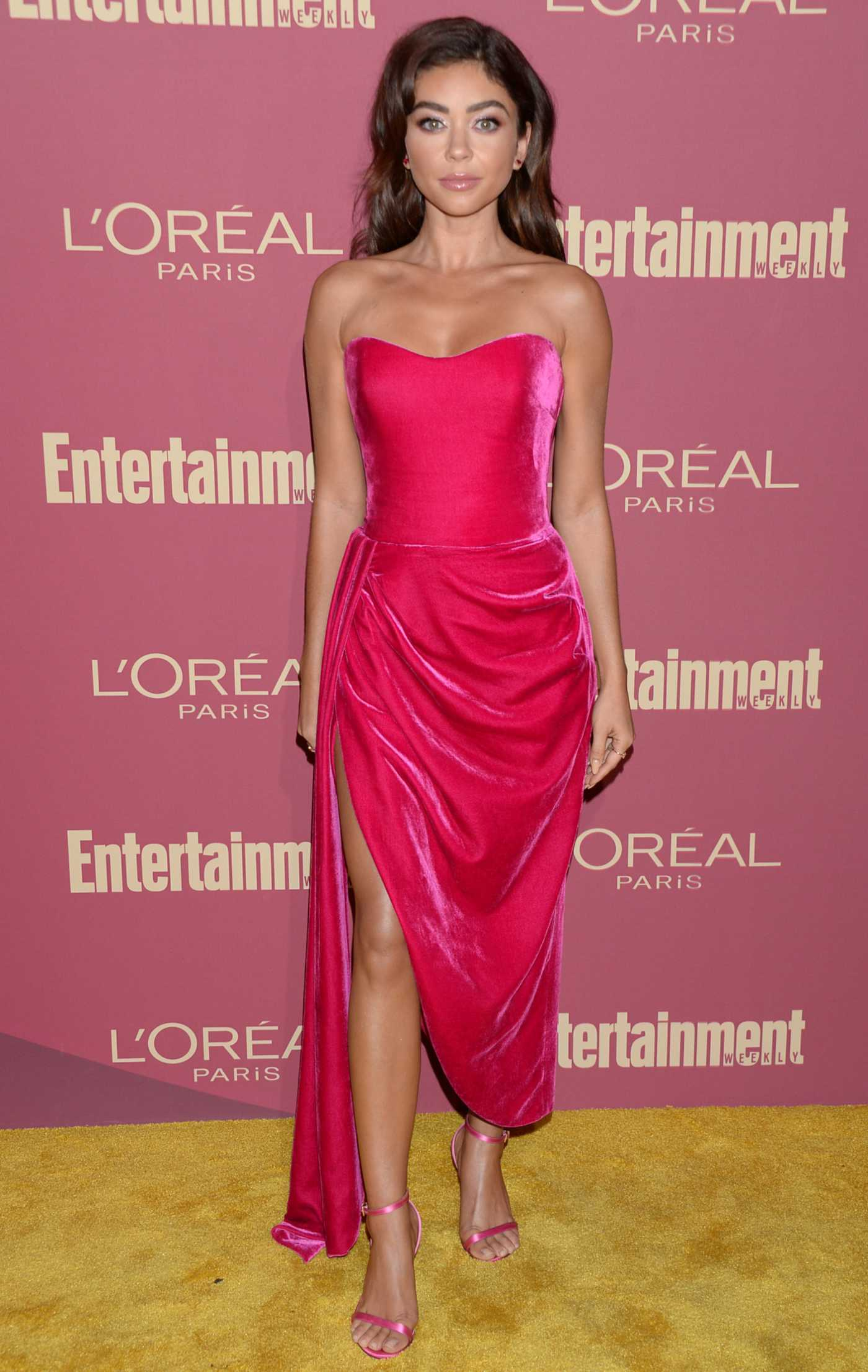 Sarah Hyland Attends 2019 Entertainment Weekly Pre-Emmy Party in LA 09/20/2019
