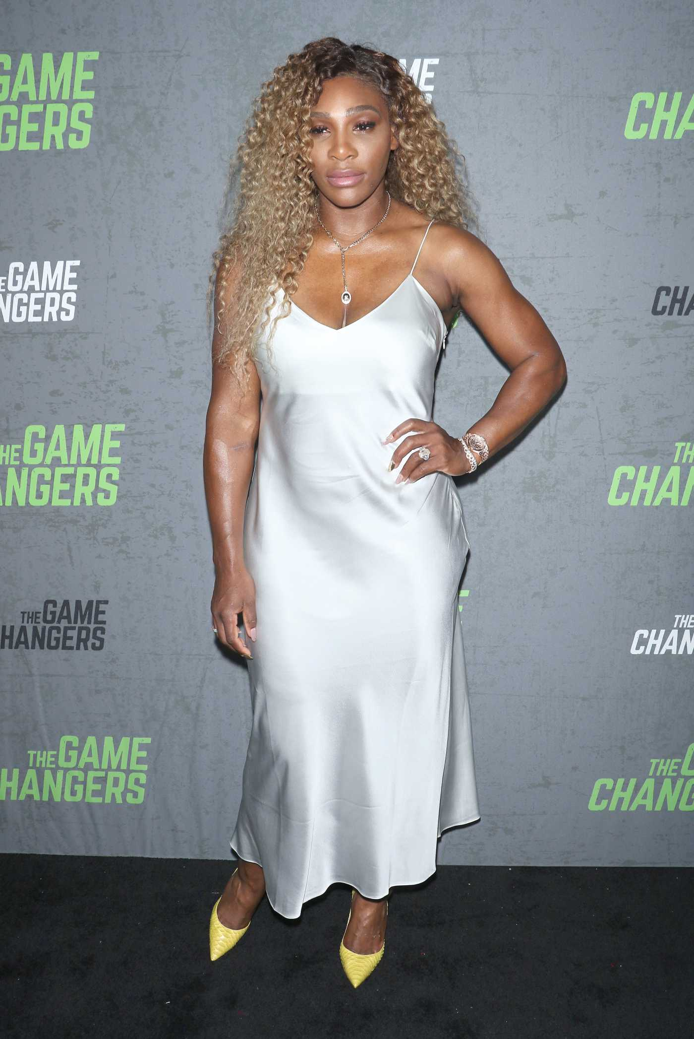 Serena Williams Attends The Game Changers Premiere in NYC 09/09/2019