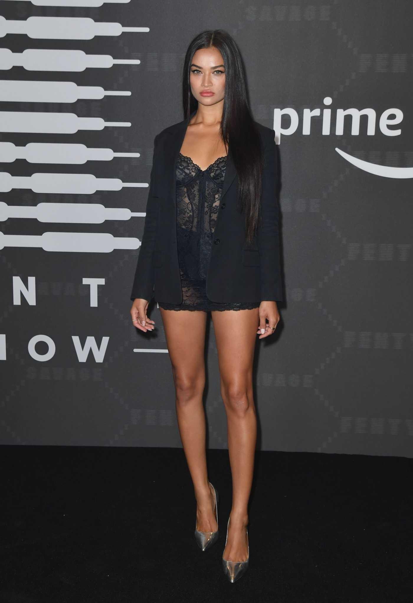 Shanina Shaik Attends Savage x Fenty Show in Brooklyn, New York 09/10/2019