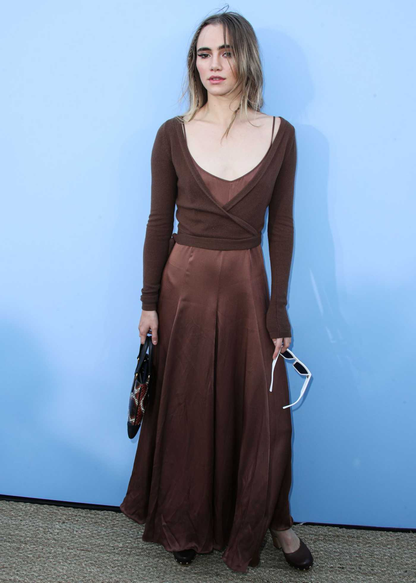 Suki Waterhouse Attends the Michael Kors Show During New York Fashion Week in New York 09/11/2019