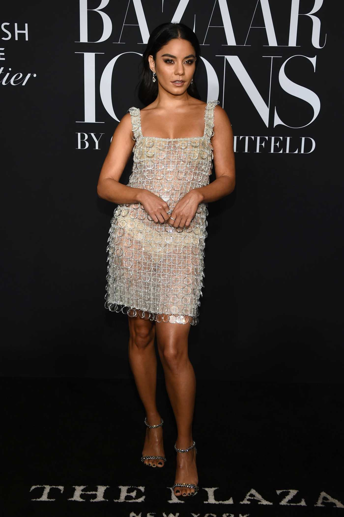 Vanessa Hudgens Attends Harper's Bazaar Icons Party in New York 09/06/2019