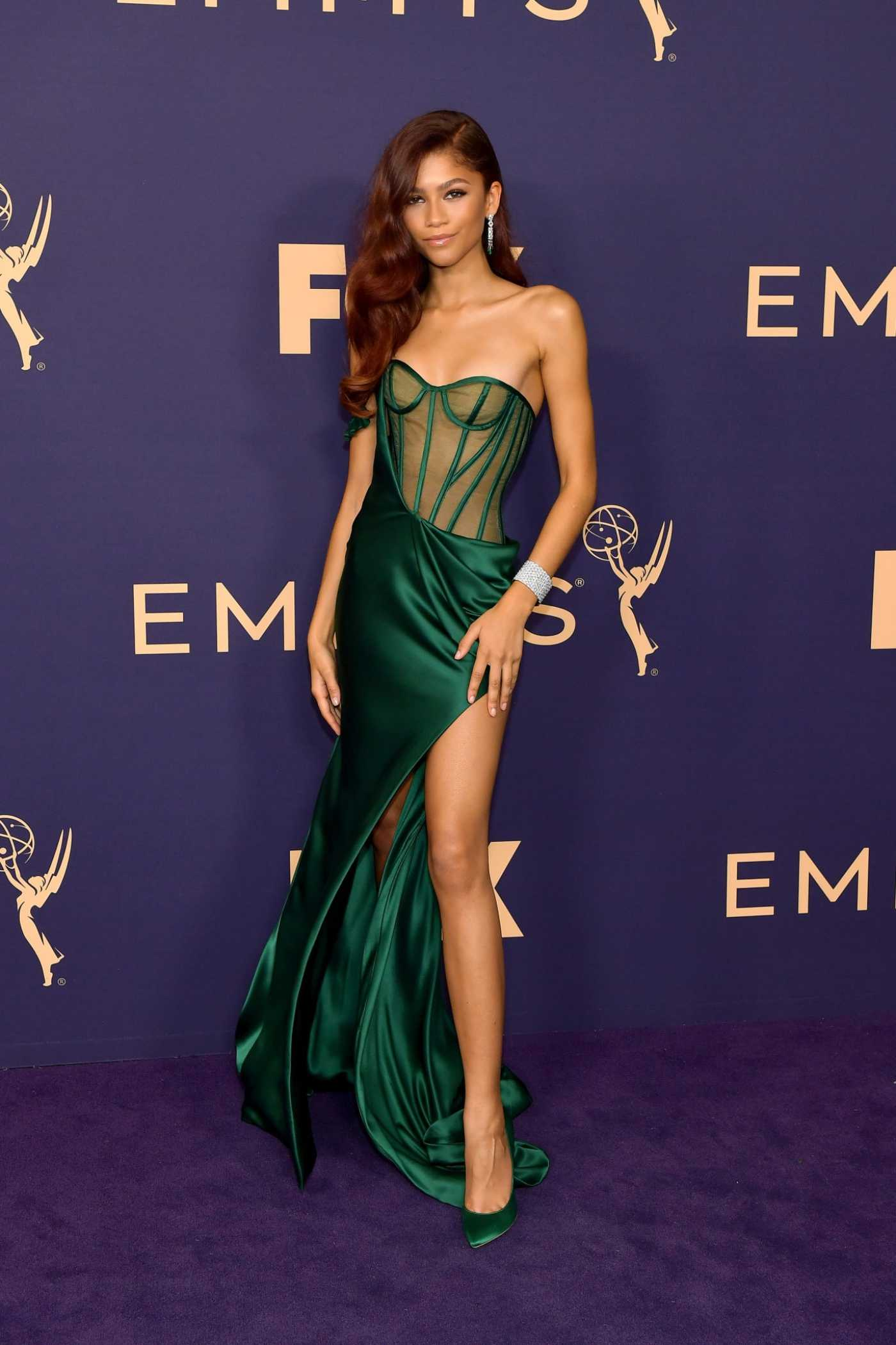 Zendaya Attends the 71st Emmy Awards at Microsoft Theater in Los Angeles 09/22/2019