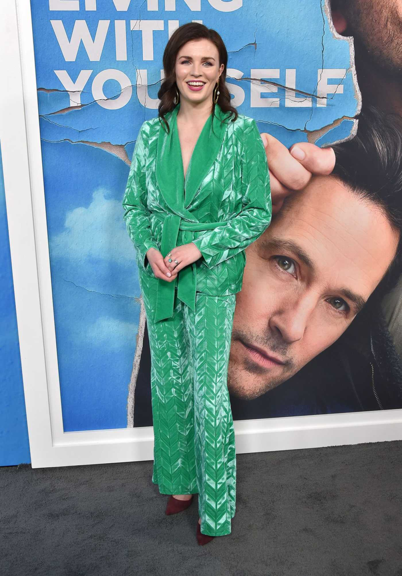 Aisling Bea Attends Living with Yourself Premiere at Arclight Cinemas in LA 10/16/2019
