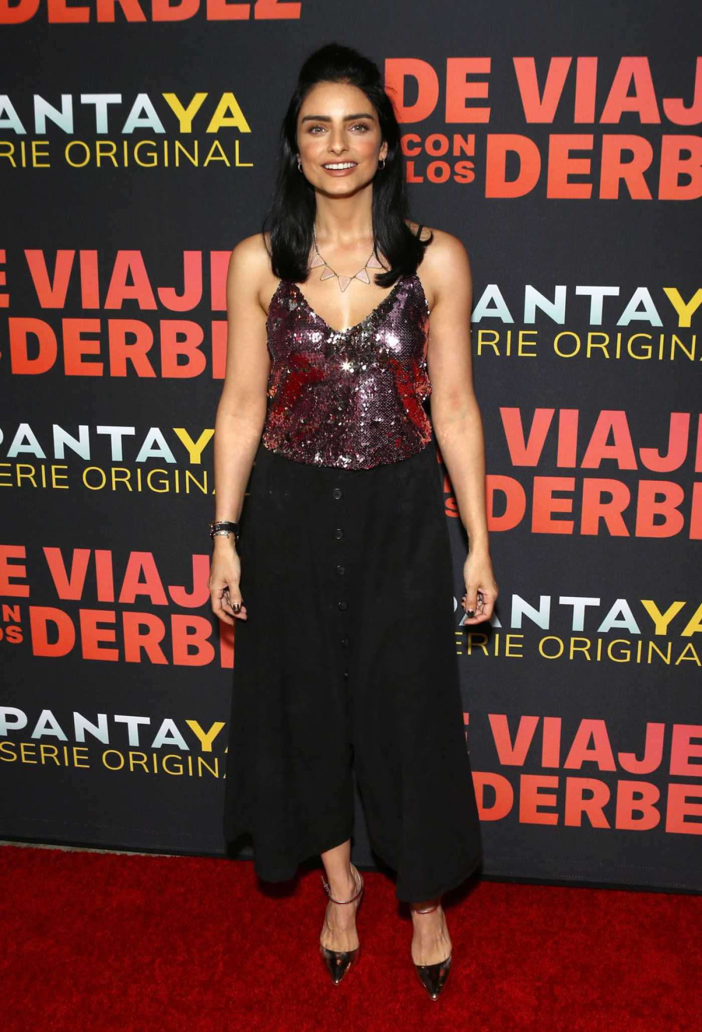 Aislinn Derbez Attends the De Viaje Con Los Derbez TV Show Premiere in LA 10/15/2019