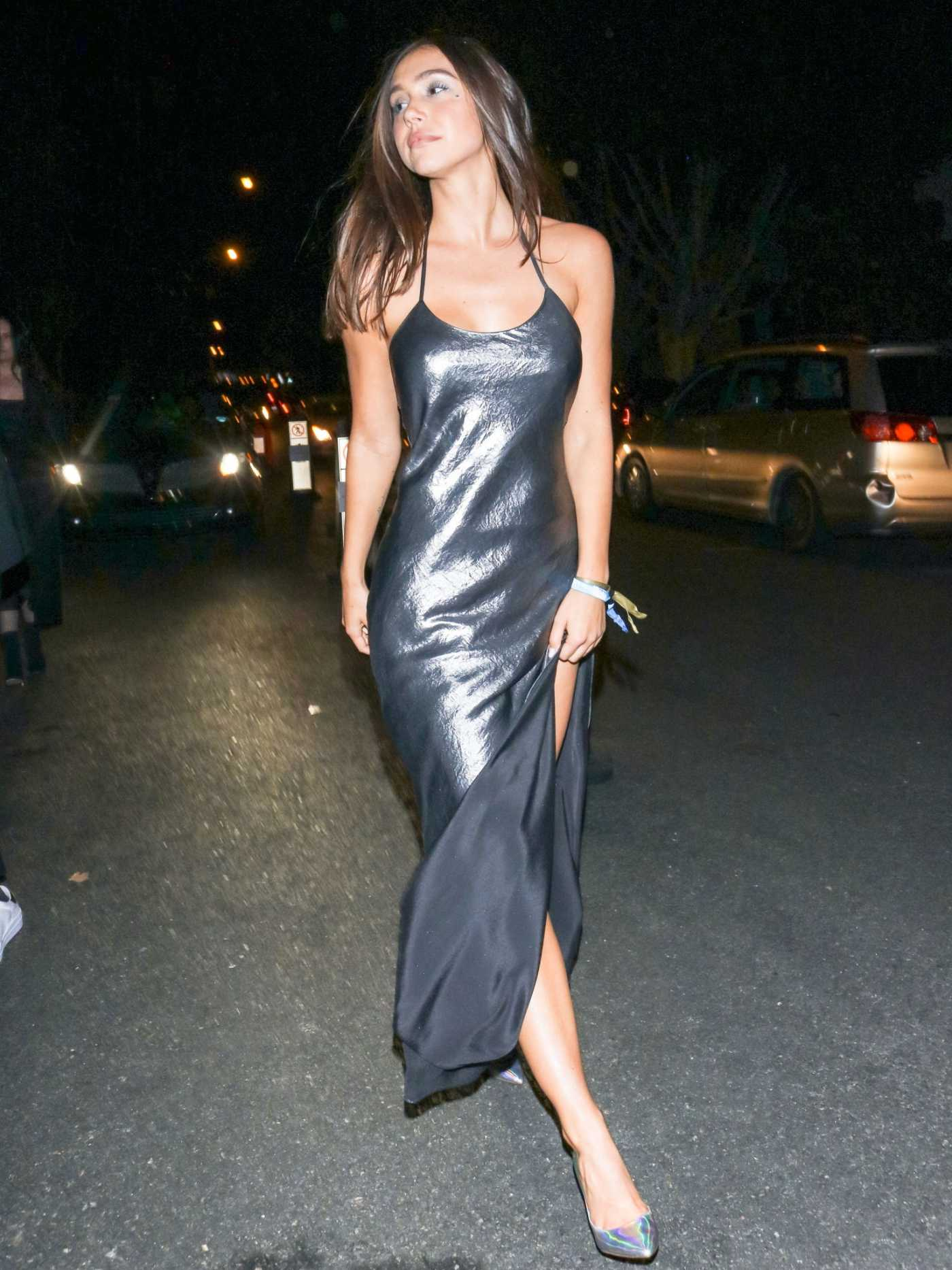 Alexis Ren Leaves the Unicef Masquerade Ball in West Hollywood 10/26/2019