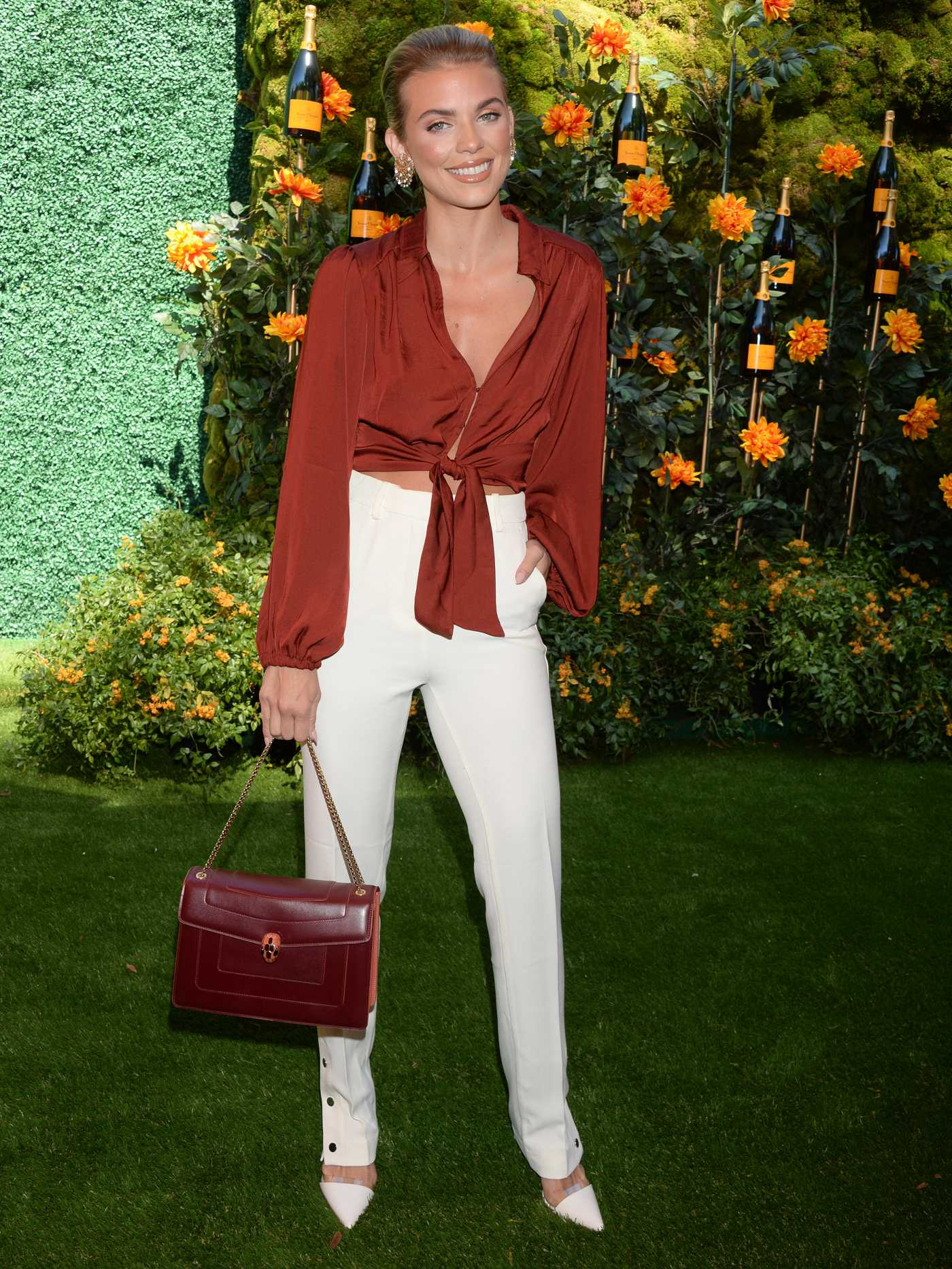 AnnaLynne McCord Attends 2019 Veuve Clicquot Polo Classic at Will Rogers State Park in LA 10/05/2019