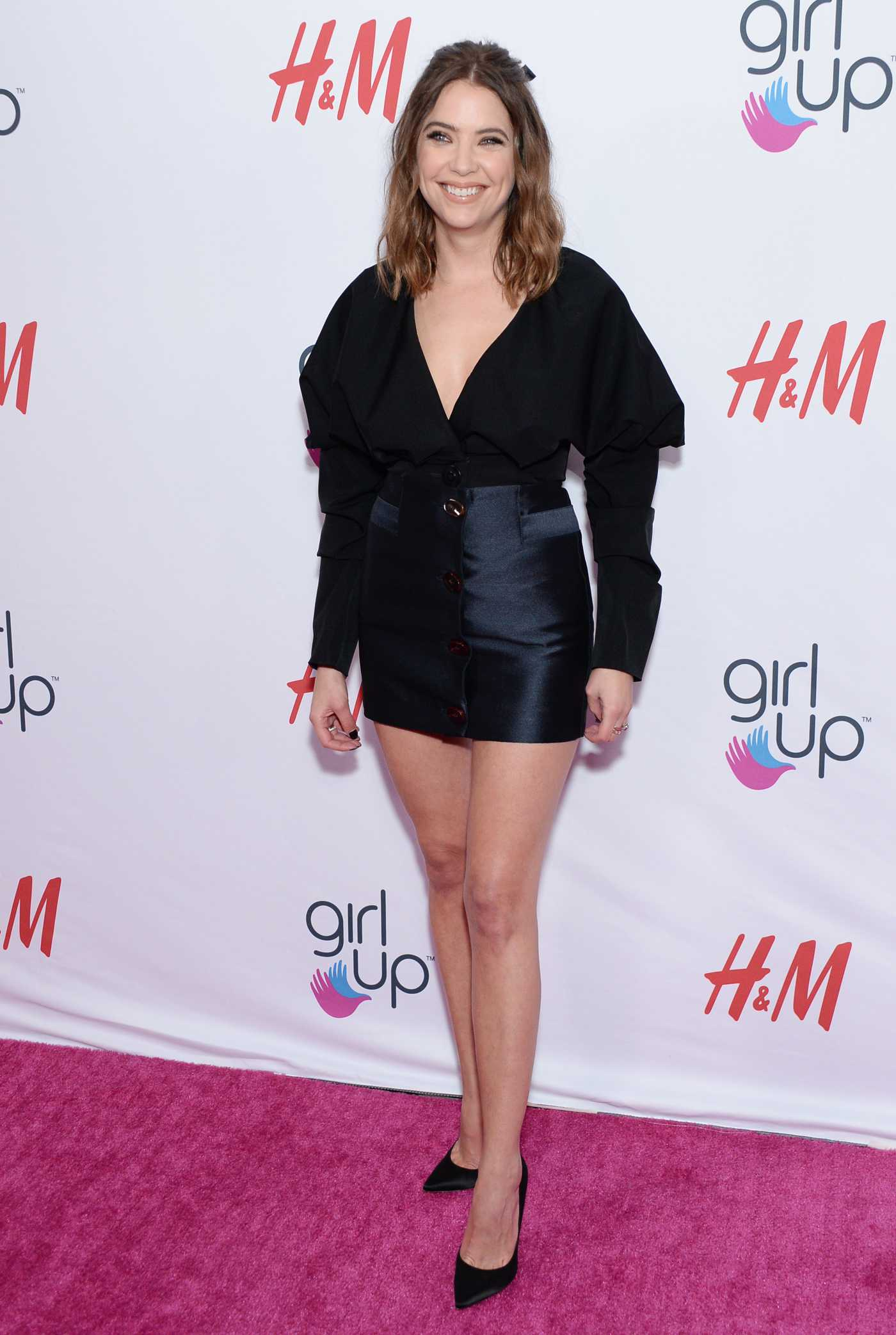 Ashley Benson Attends the 2nd Annual Girl Up #GirlHero Awards at the Beverly Wilshire Four Seasons Hotel in Beverly Hills 10/13/2019