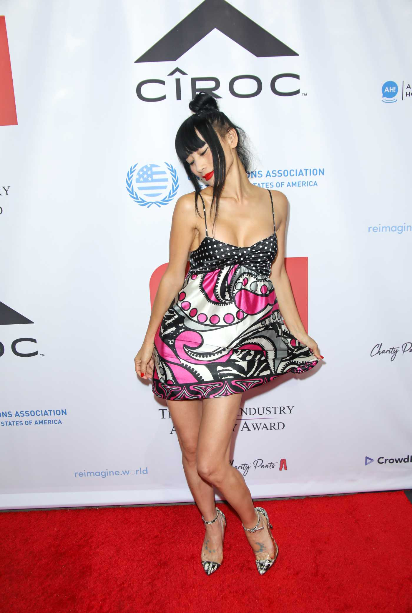 Bai Ling Attends the 5th Annual Television Industry Advocacy Awards at the TCL Chinese Theatre in Hollywood 10/23/2019