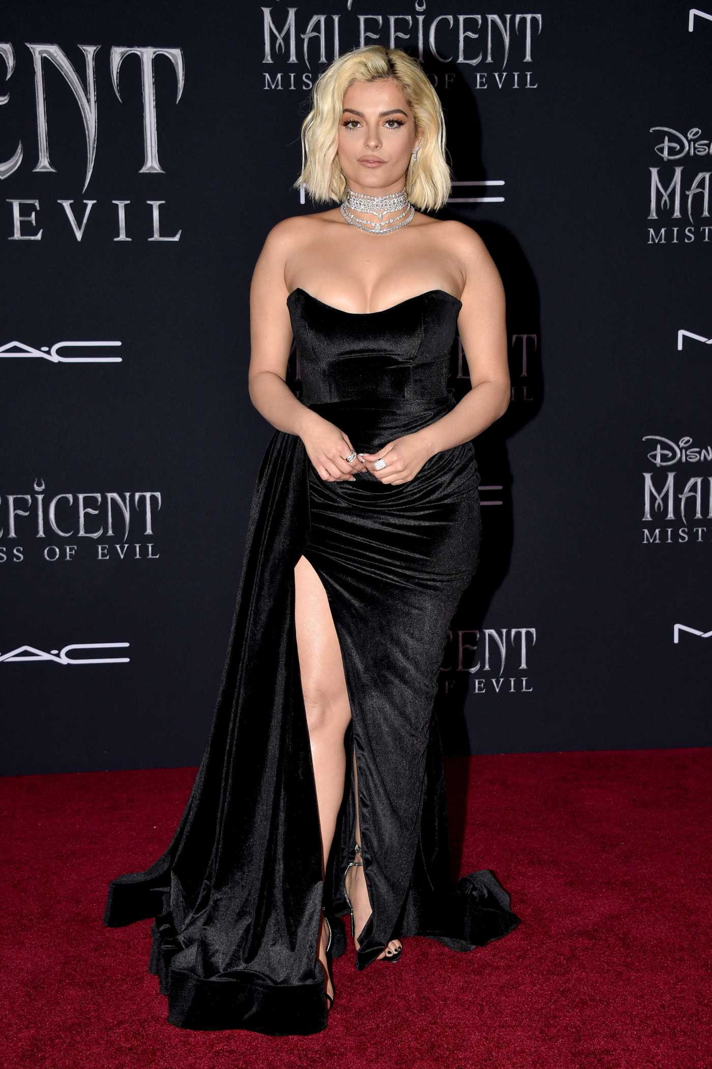 Bebe Rexha Attends the Maleficent: Mistress of Evil Premiere at El Capitan Theatre in Los Angeles 09/30/2019