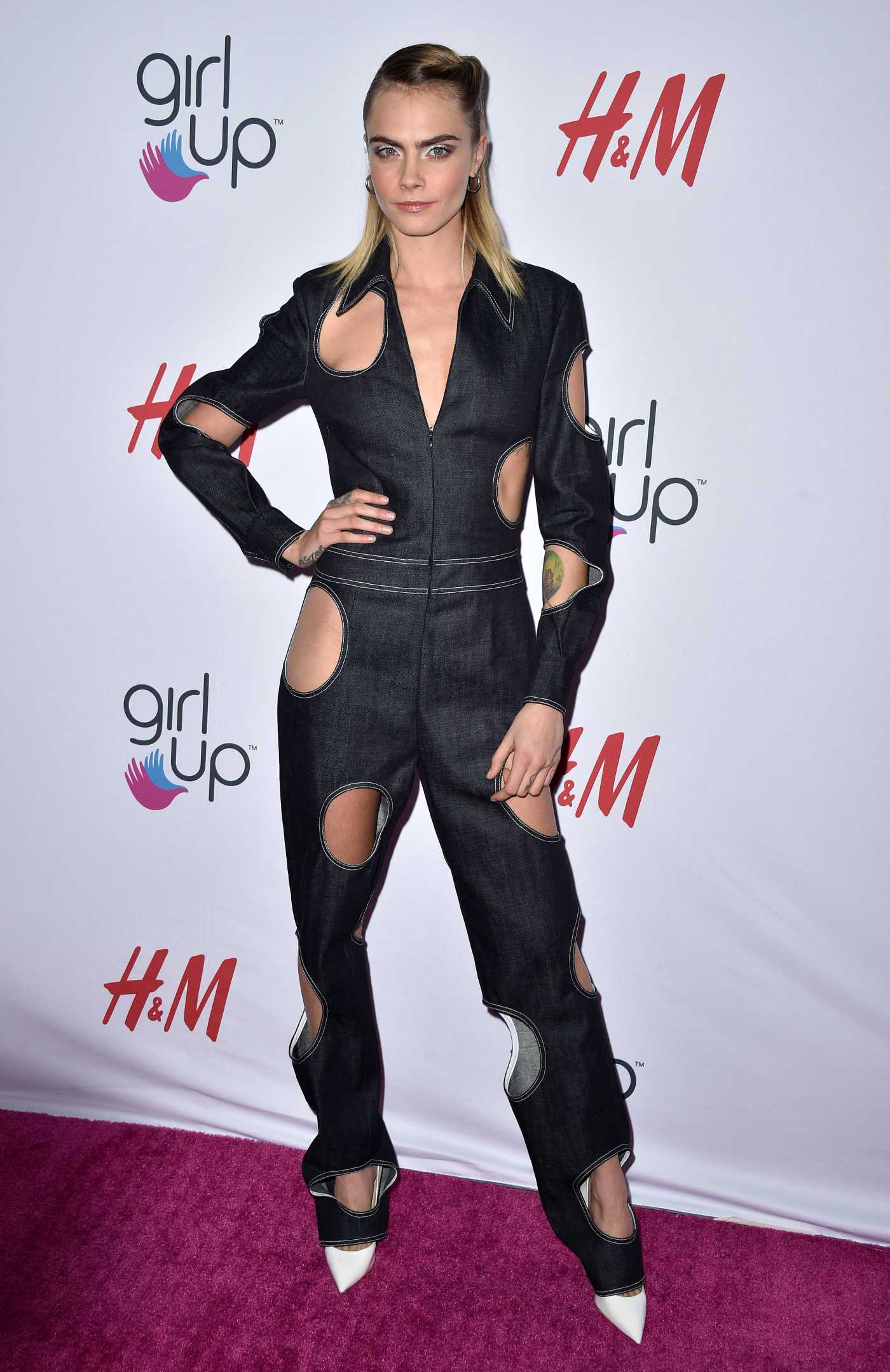 Cara Delevingne Attends the 2nd Annual Girl Up #GirlHero Awards at the Beverly Wilshire Four Seasons Hotel in Beverly Hills 10/13/2019