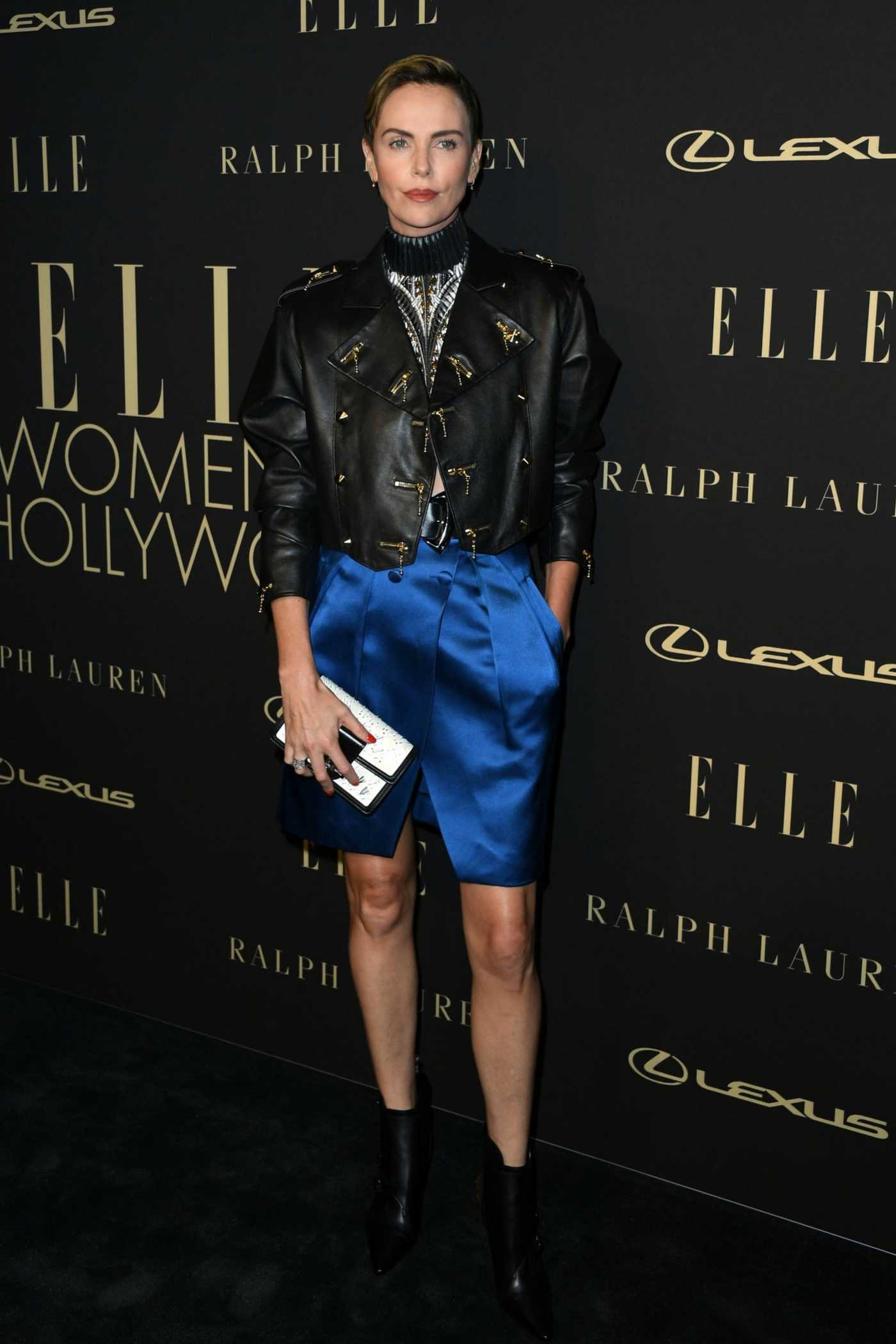 Charlize Theron Attends the 26th Annual Elle Women in Hollywood Celebration in Beverly Hills 10/14/2019