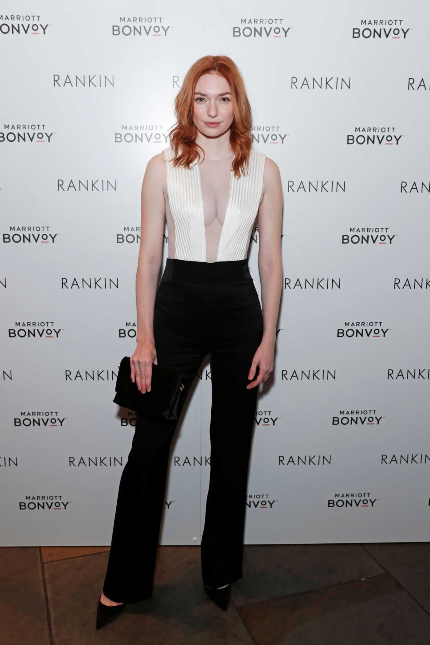 Eleanor Tomlinson Attends the Launch of Loyalty and Love in London 10/02/2019