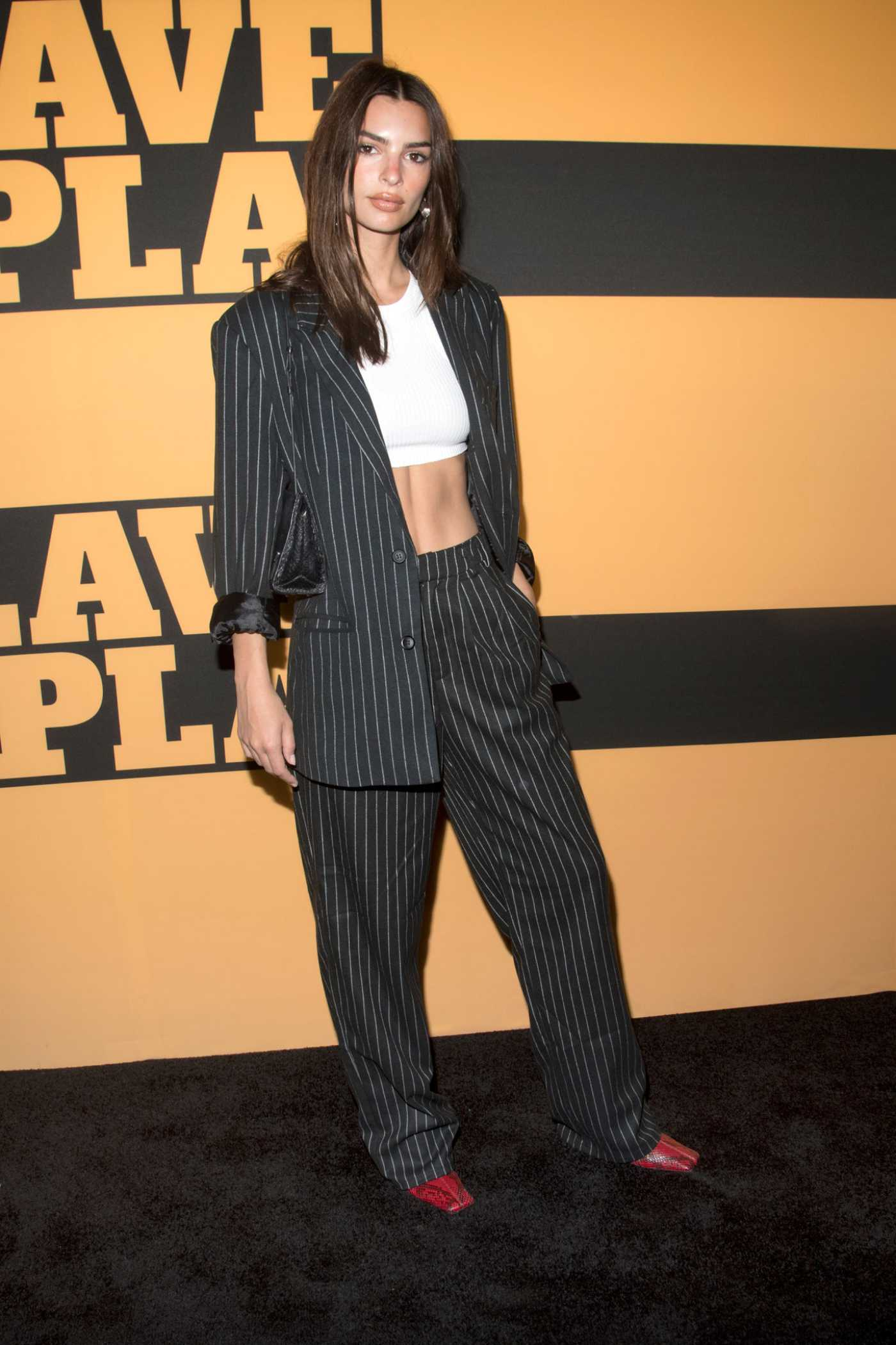 Emily Ratajkowski Attends Opening Night of Slave Play at the Golden Theatre in New York 10/06/2019