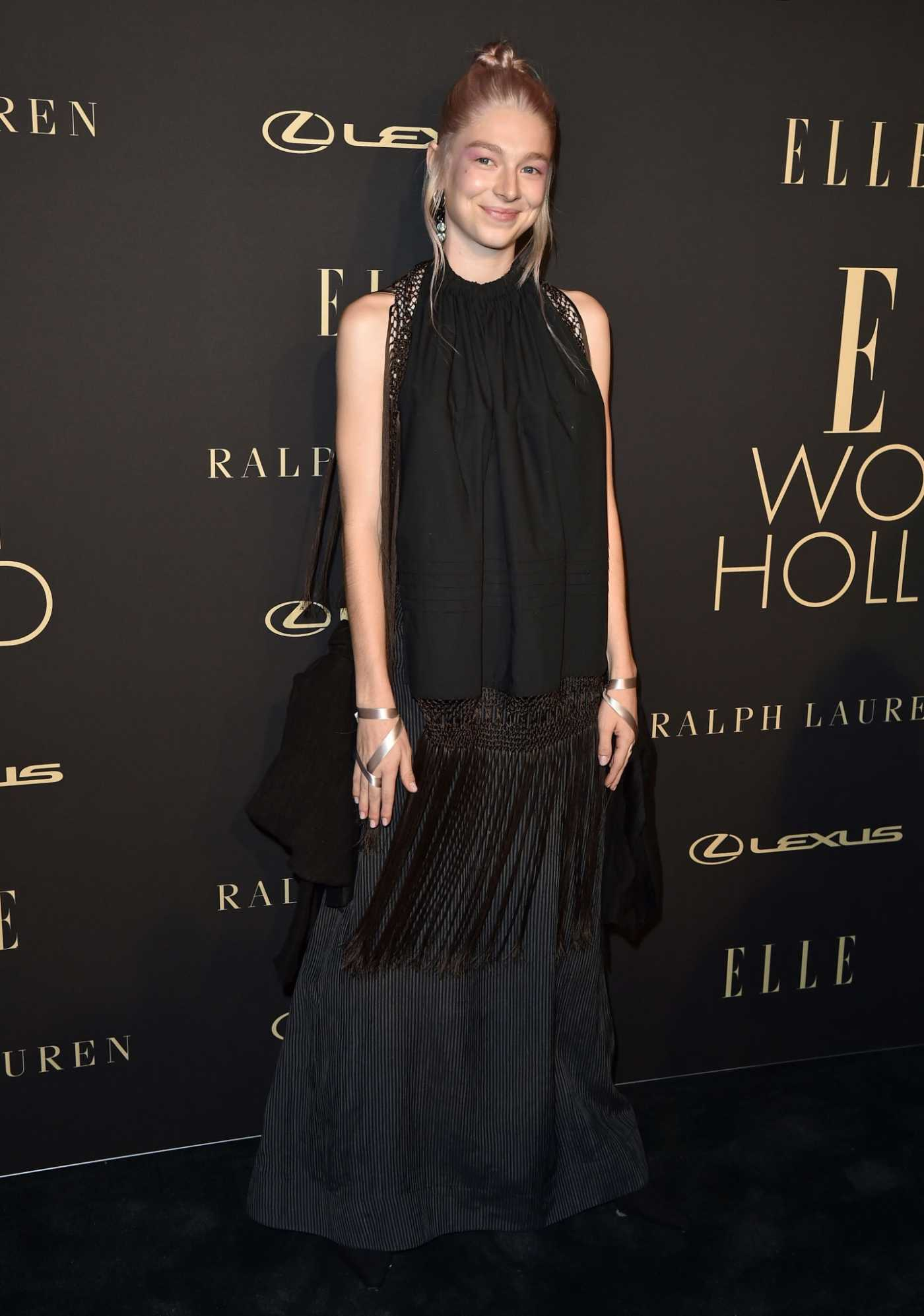 Hunter Schafer Attends the 26th Annual Elle Women in Hollywood Celebration in Beverly Hills 10/14/2019