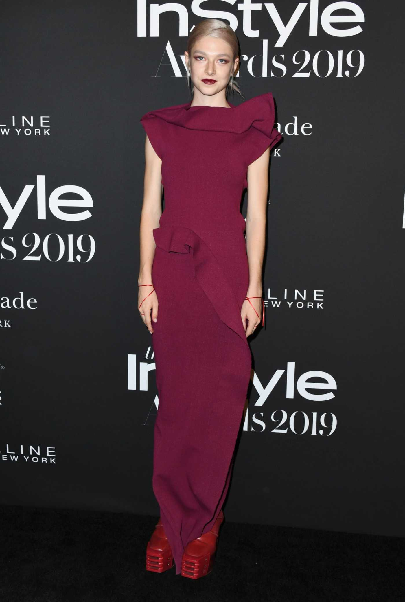 Hunter Schafer Attends the 5th Annual InStyle Awards in Los Angeles 10/21/2019