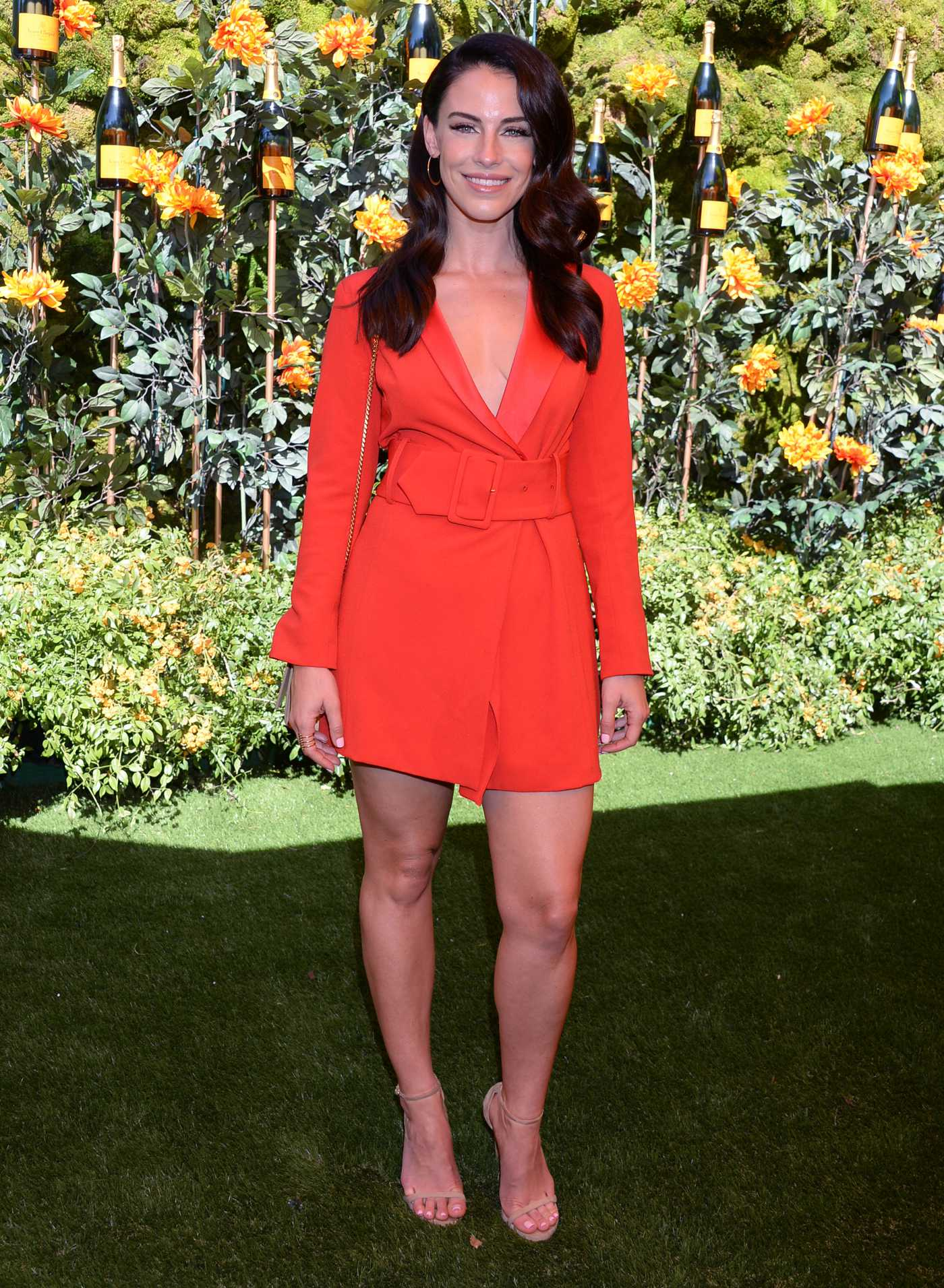 Jessica Lowndes Attends 2019 Veuve Clicquot Polo Classic at Will Rogers State Park in LA 10/05/2019