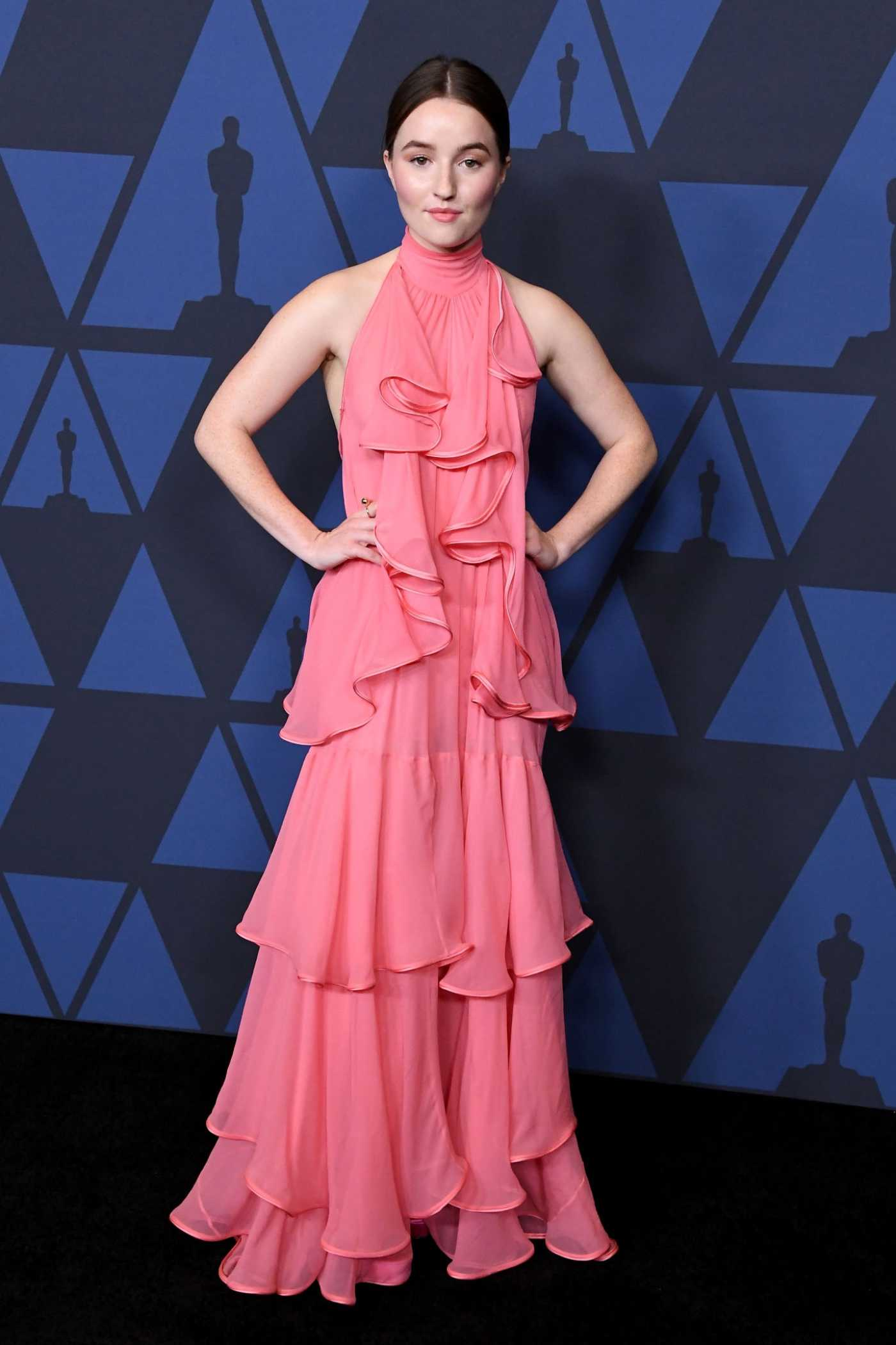 Kaitlyn Dever Attends the Academy of Motion Picture Arts and Sciences 11th Annual Governors Awards in Hollywood 10/27/2019