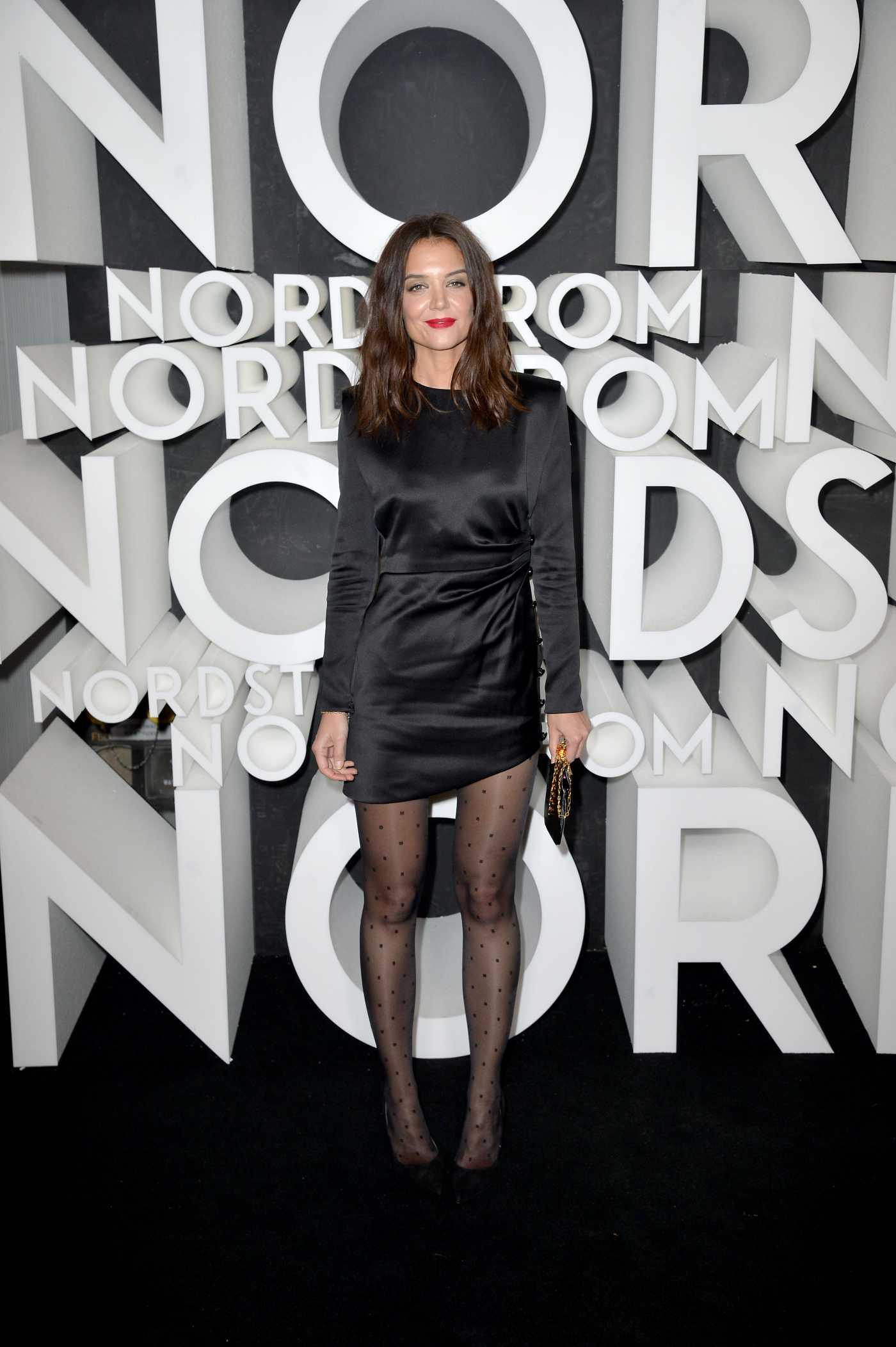 Katie Holmes Attends the Nordstrom NY Flagship Opening Party in in New York City 10/22/2019
