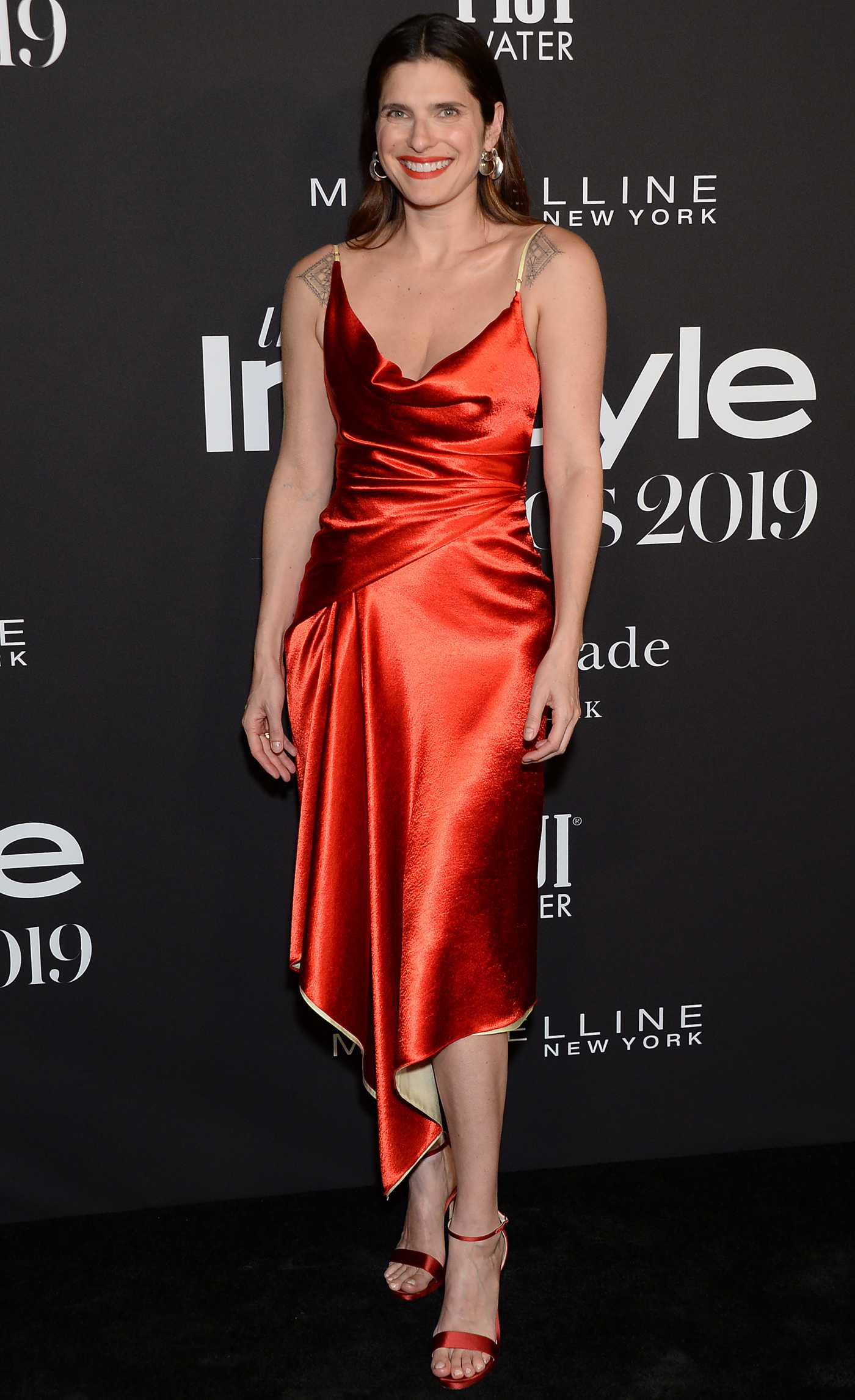 Lake Bell Attends the 5th Annual InStyle Awards in Los Angeles 10/21/2019