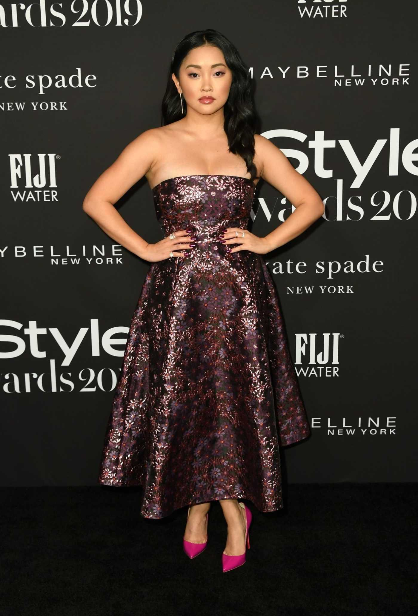 Lana Condor Attends the 5th Annual InStyle Awards in Los Angeles 10/21/2019