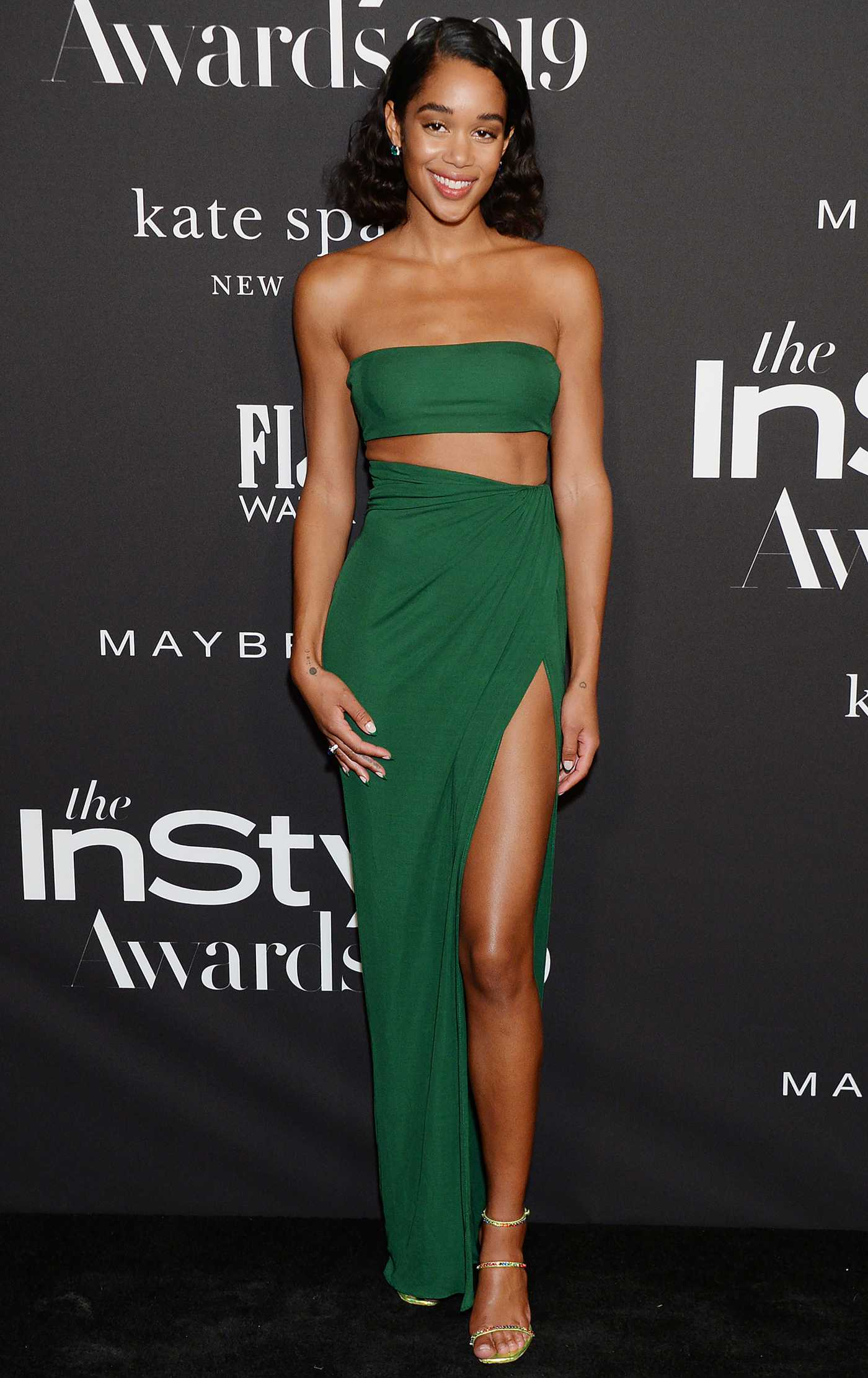 Laura Harrier Attends the 5th Annual InStyle Awards in Los Angeles 10/21/2019