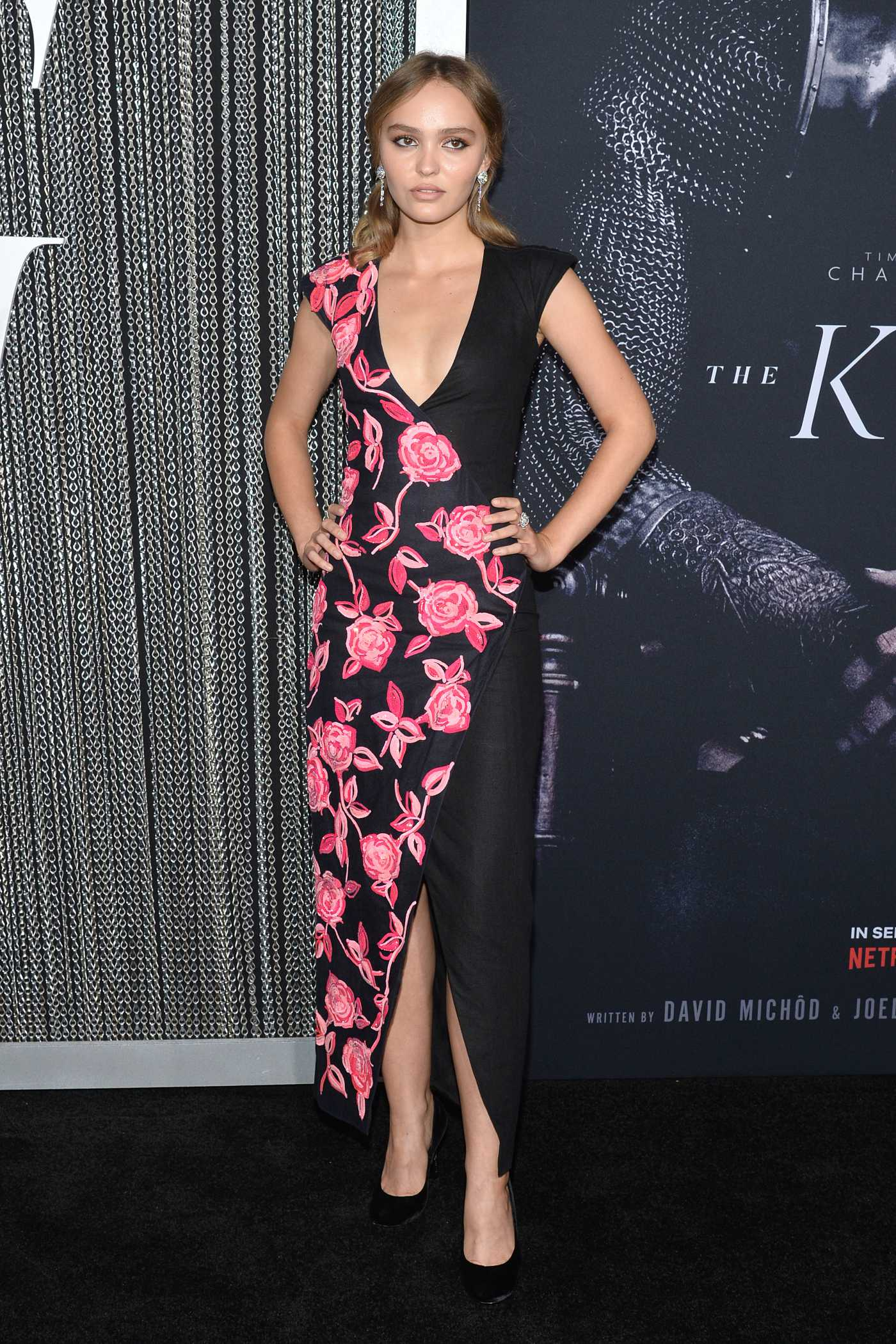 Lily-Rose Depp Attends The King Premiere at SVA Theater in New York City 10/01/2019