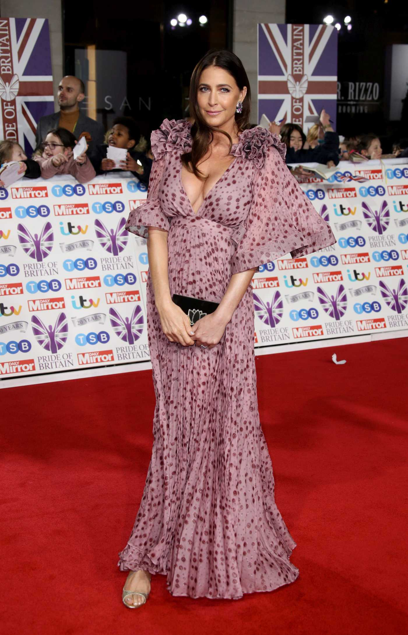 Lisa Snowdon Attends 2019 Pride of Britain Awards in London 10/28/2019