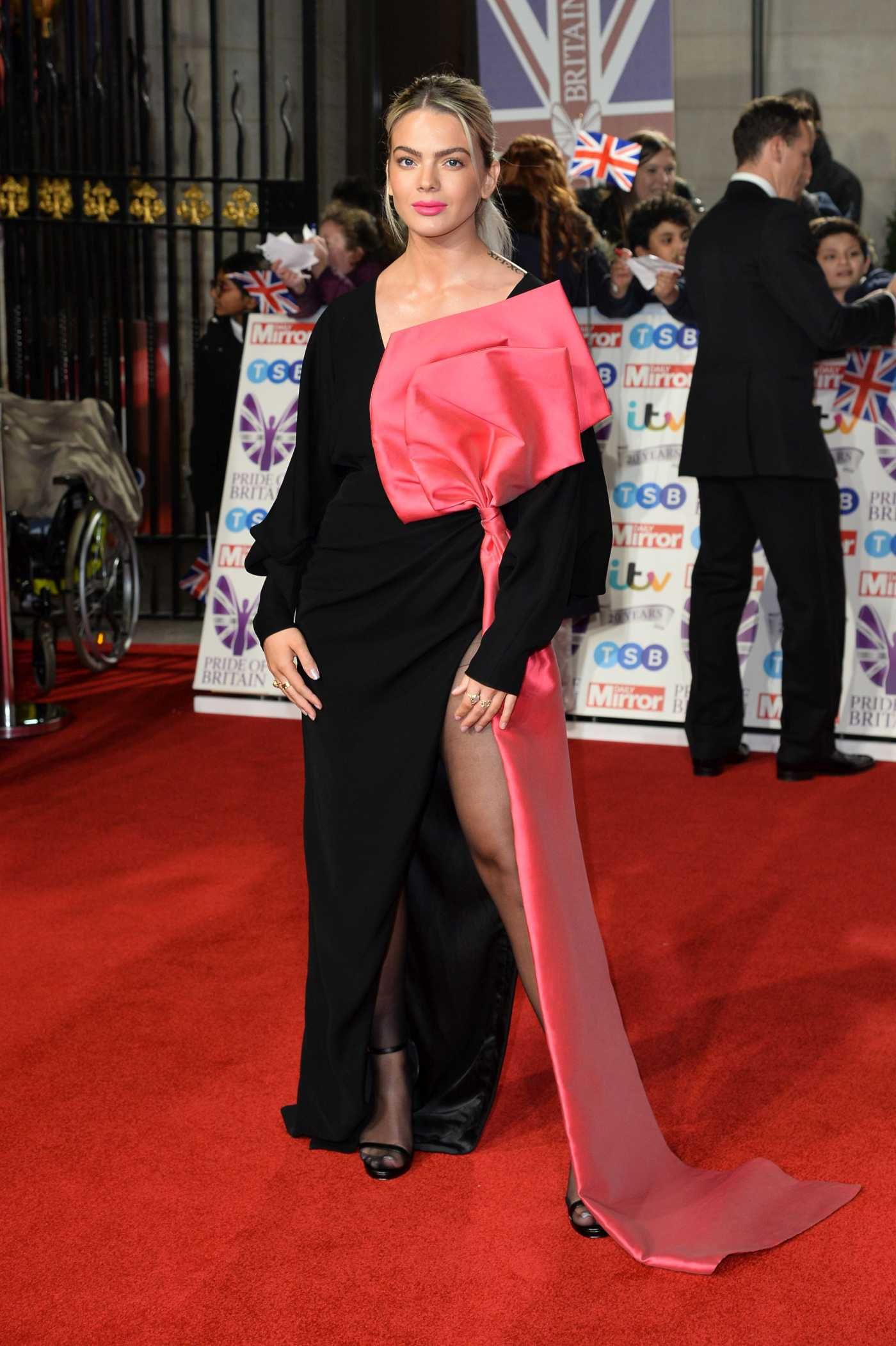 Louisa Johnson Attends 2019 Pride of Britain Awards in London 10/28/2019