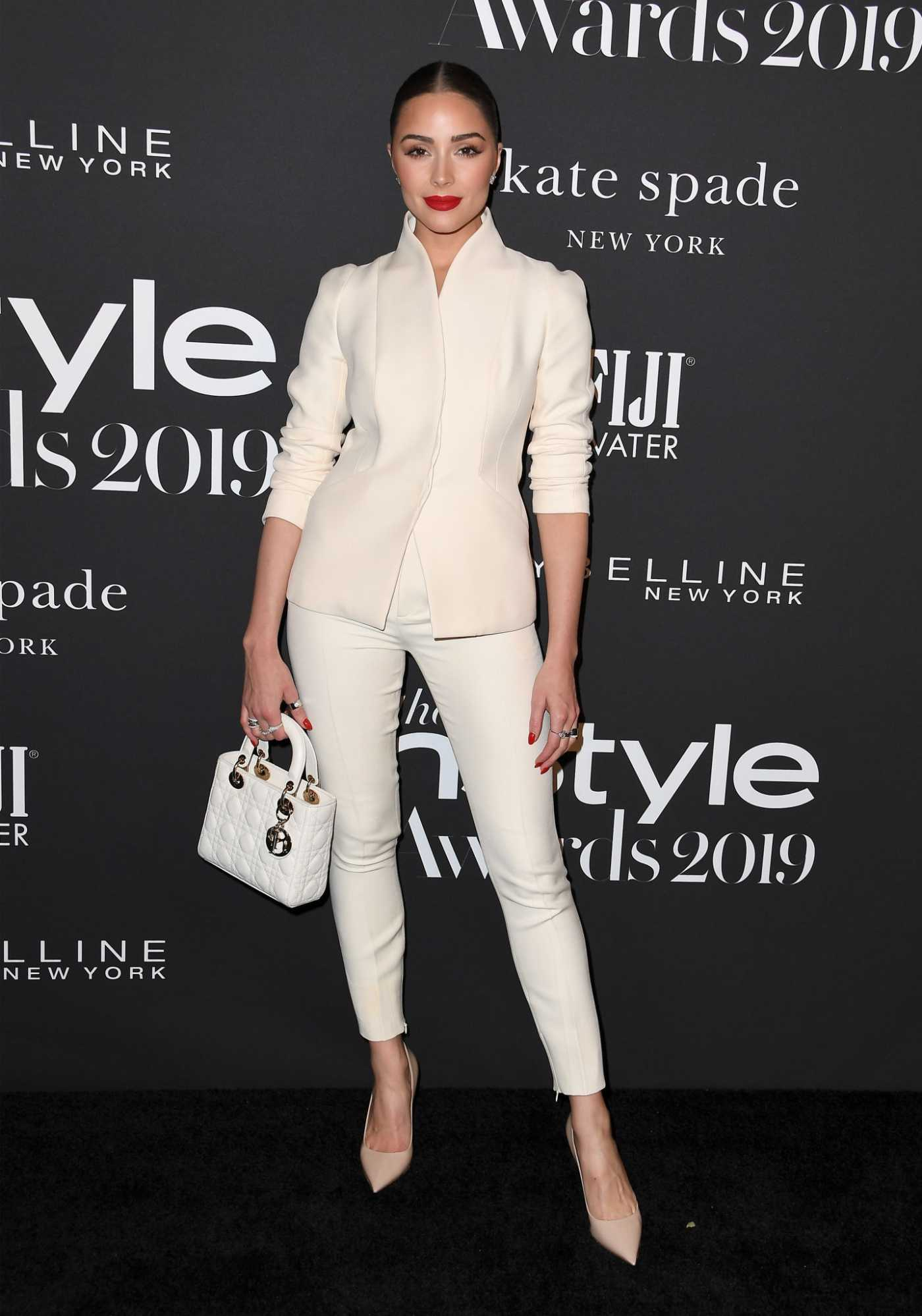 Olivia Culpo Attends the 5th Annual InStyle Awards in Los Angeles 10/21/2019
