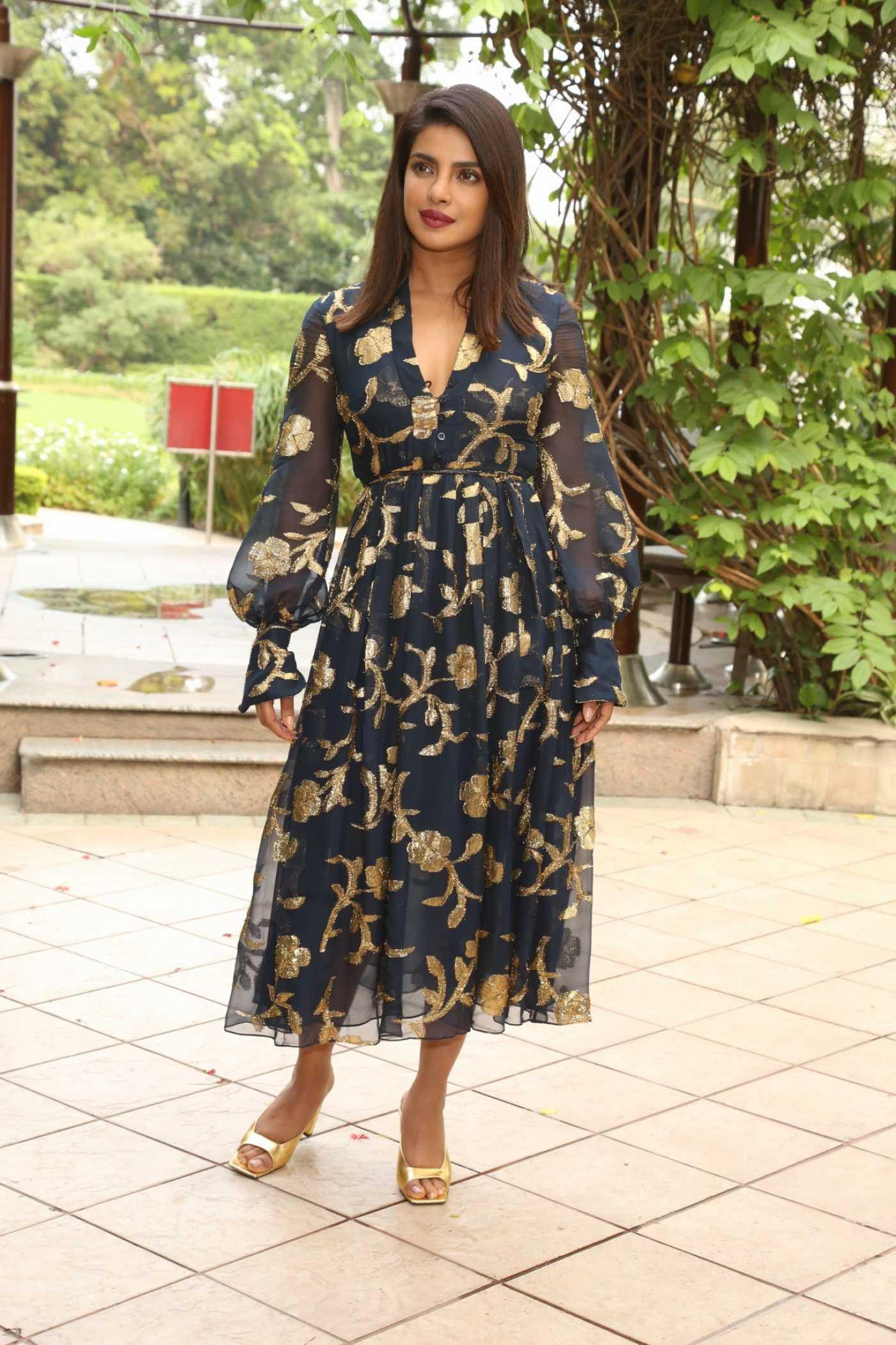 Priyanka Chopra Attends The Sky is Pink Promotion in Delhi 10/01/2019