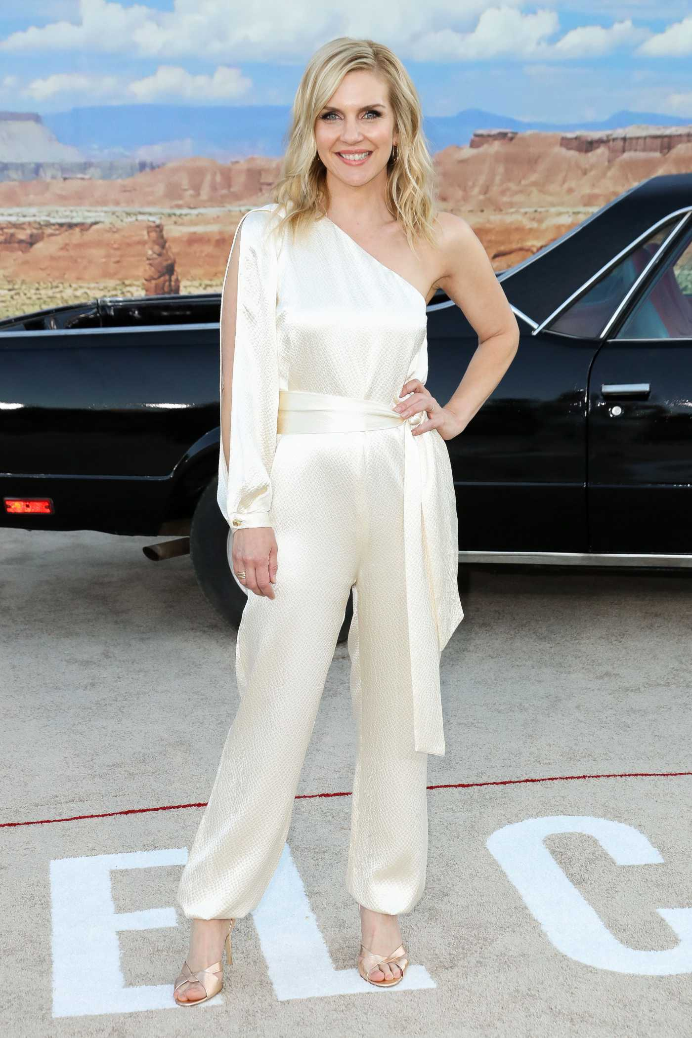 Rhea Seehorn Attends the El Camino: A Breaking Bad Movie Premiere in Westwood 10/07/2019