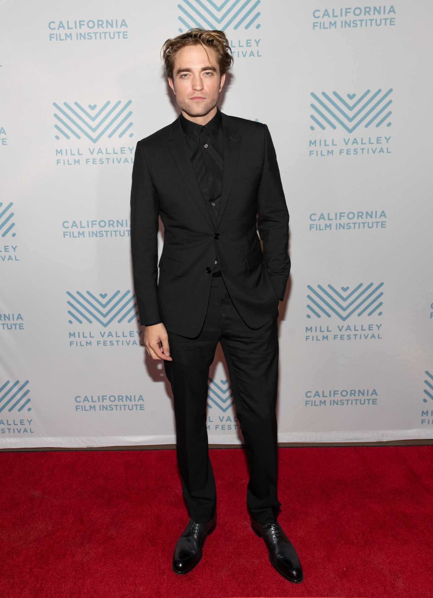 Robert Pattinson Attends the 42nd Mill Valley Film Festival in San Rafael 10/07/2019
