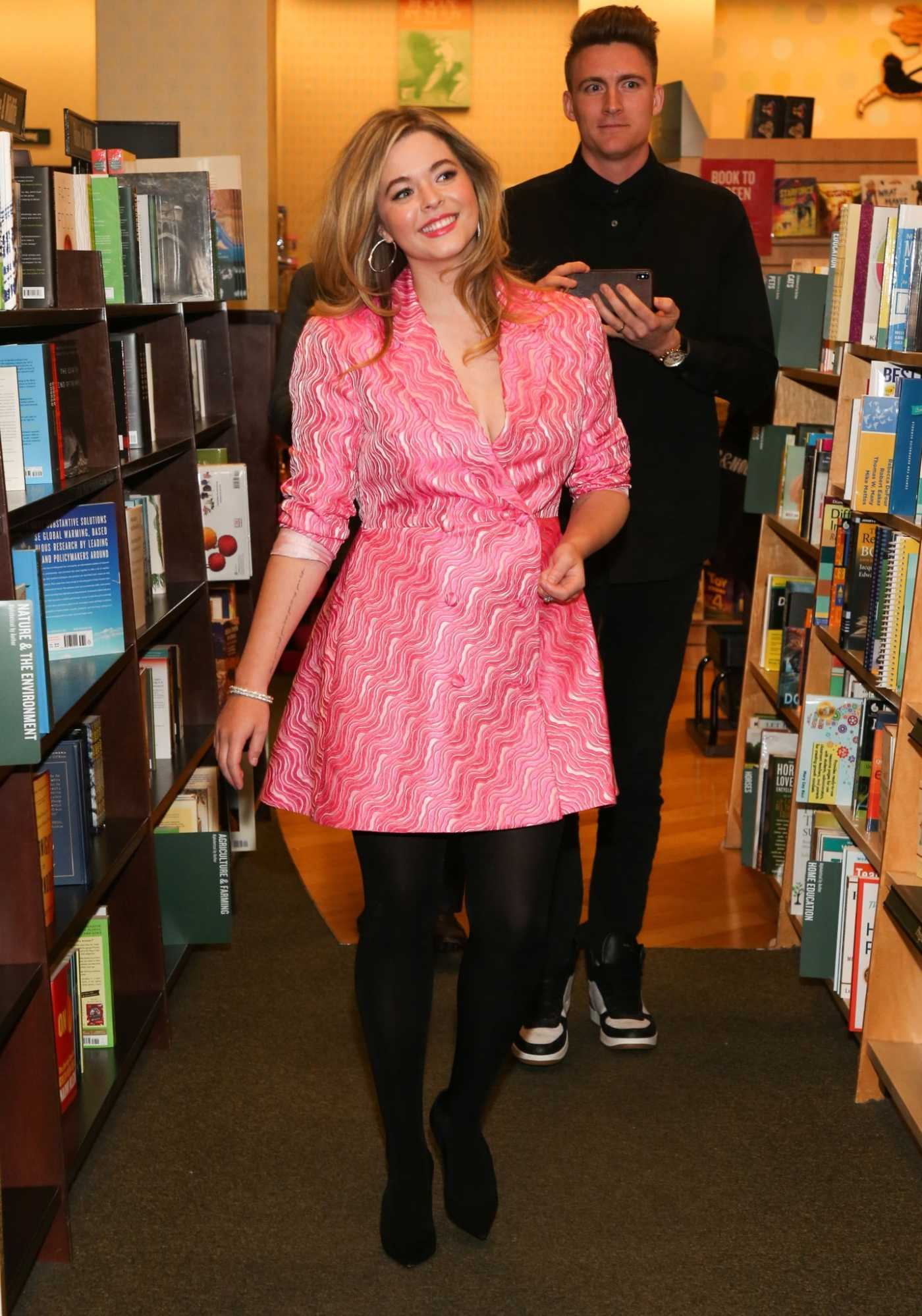 Sasha Pieterse Signs Copies of Her New Book Sasha In Good Taste in Los Angeles 10/11/2019