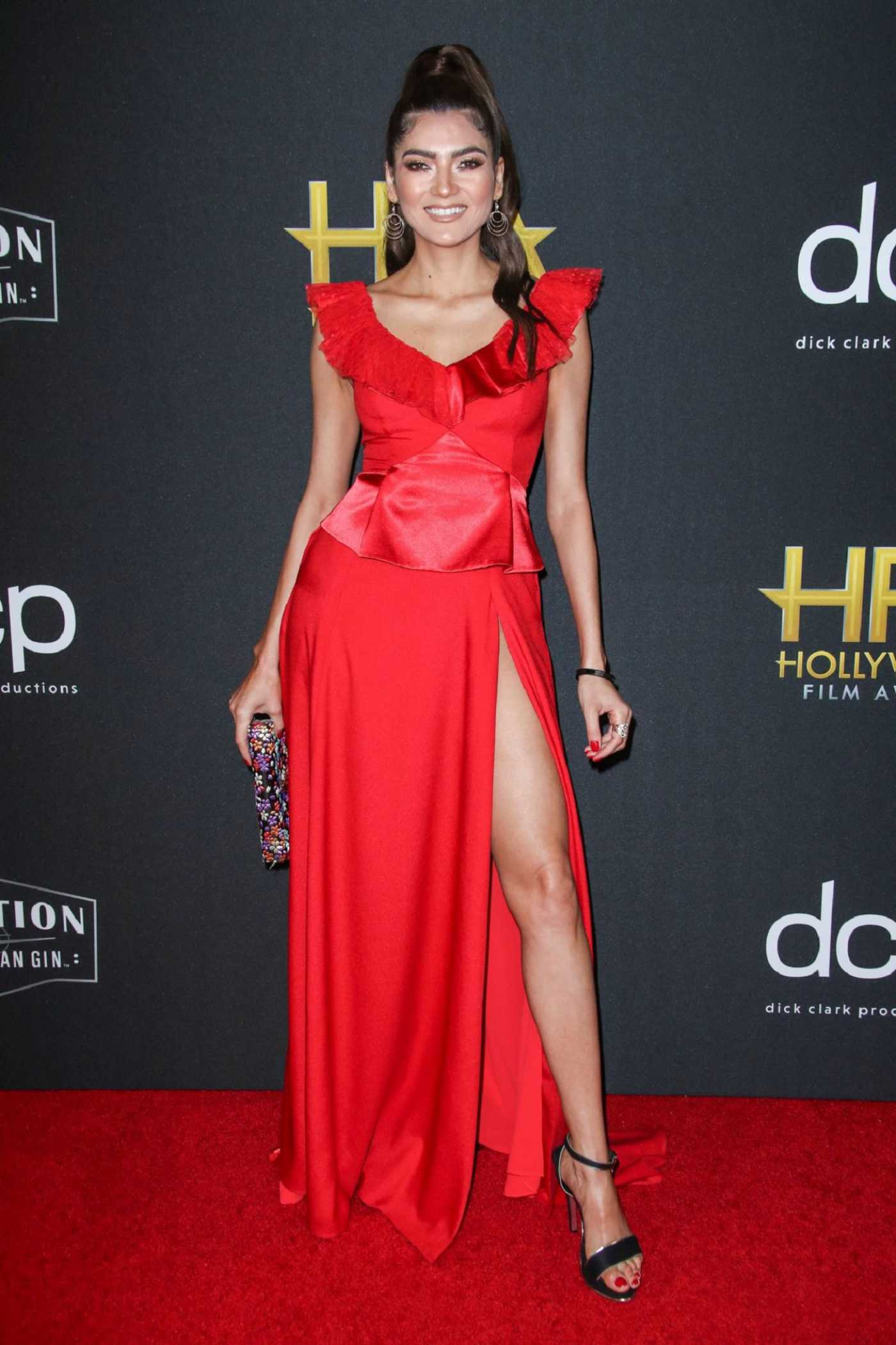 Blanca Blanco Attends the 23rd Annual Hollywood Film Awards at The Beverly Hilton Hotel in Beverly Hills 11/03/2019