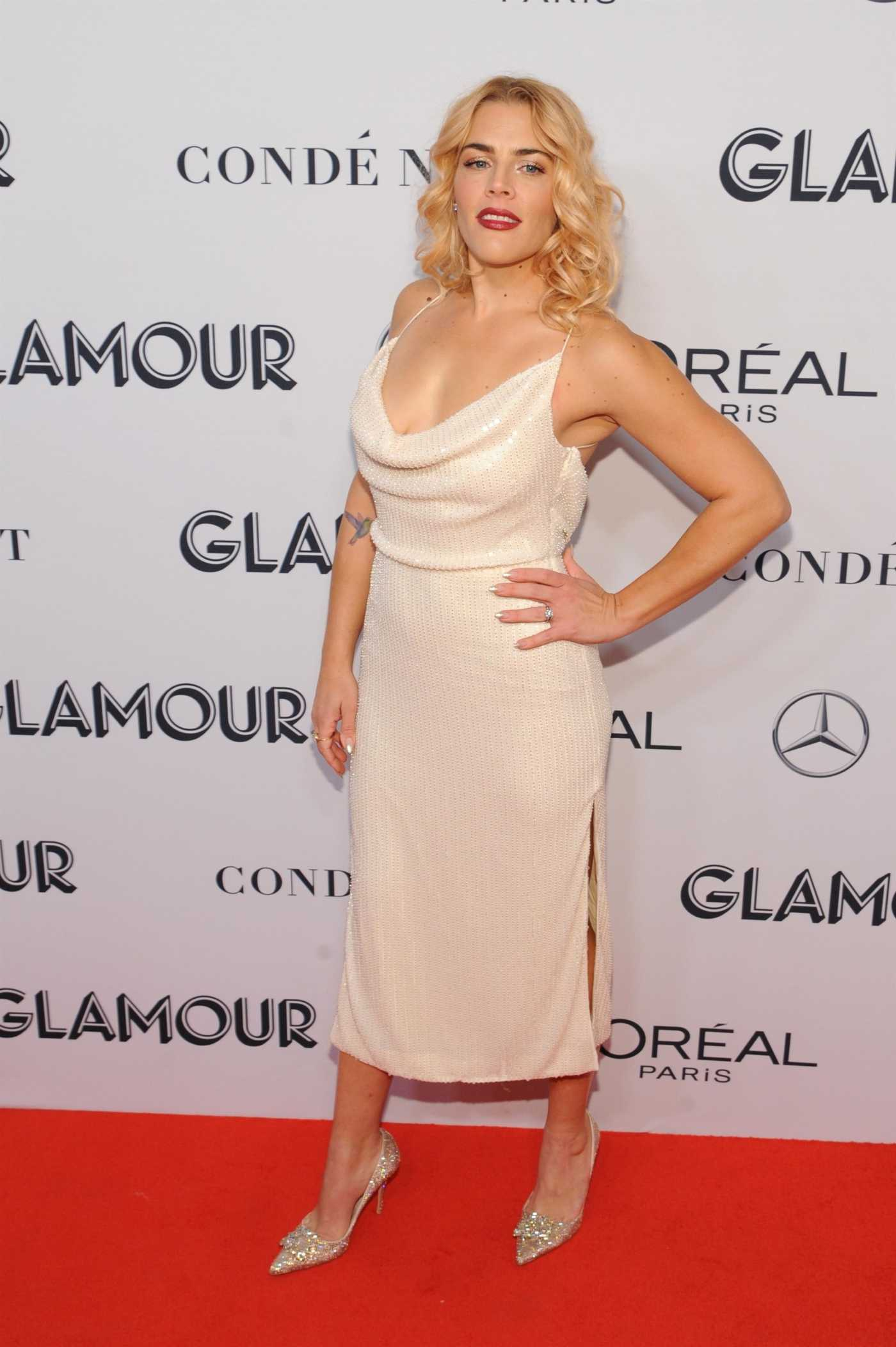 Busy Philipps Attends 2019 Glamour Women of The Year Awards at Alice Tully Center in New York City 11/11/2019