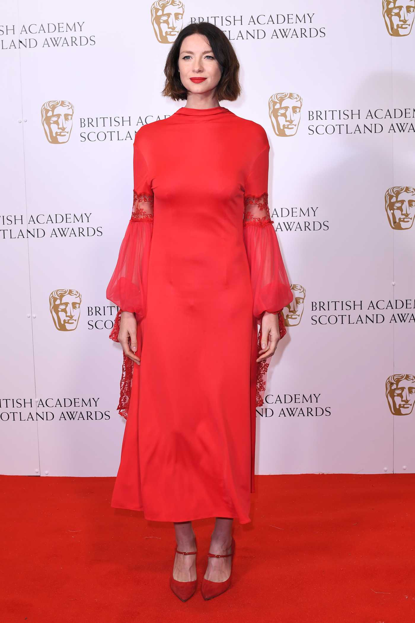 Caitriona Balfe Attends 2019 BAFTA Scotland Awards at the DoubleTree Hotel in Glasgow 11/03/2019