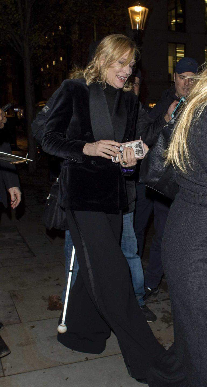 Cate Blanchett in a Black Blazer