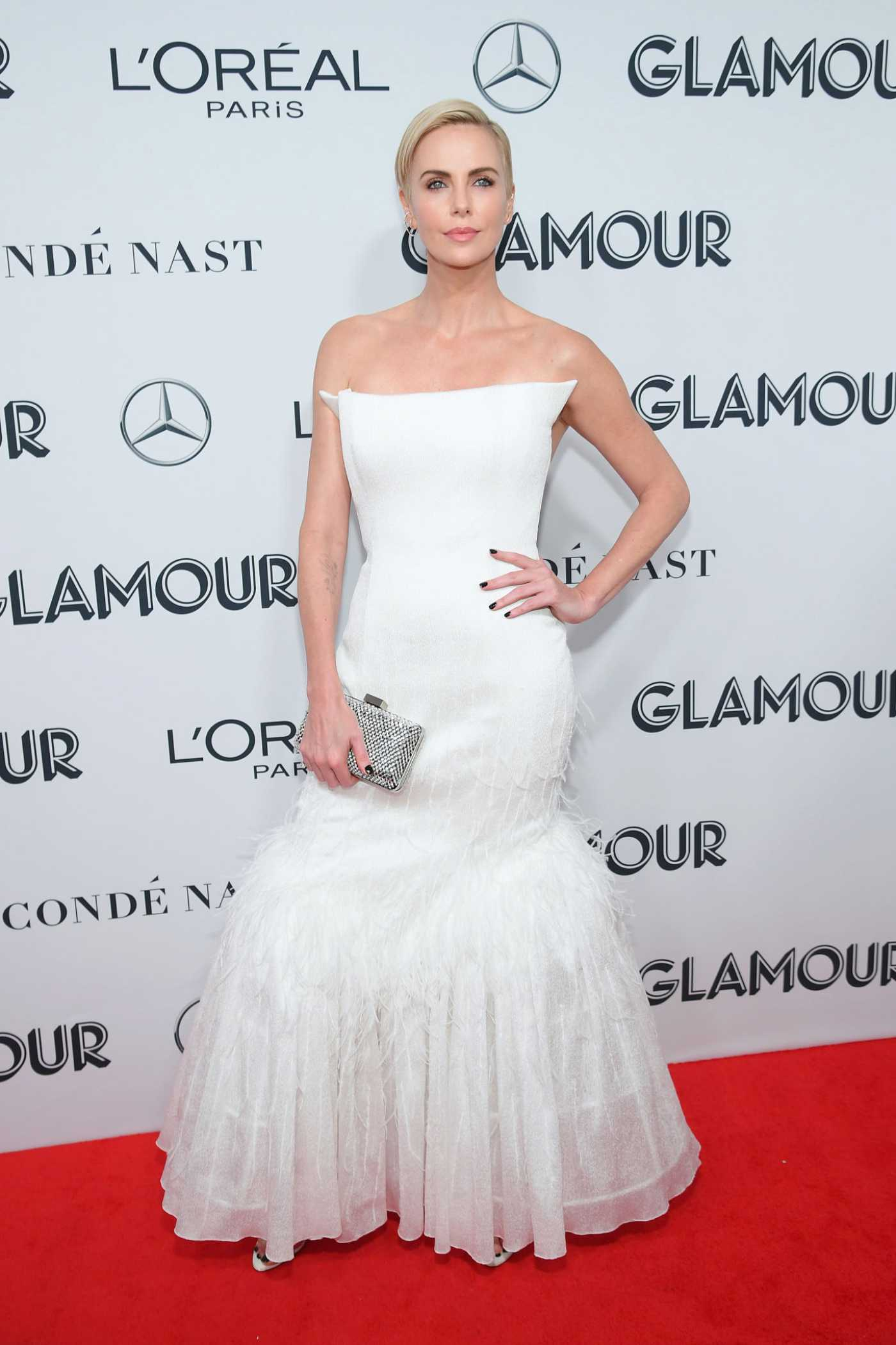 Charlize Theron Attends 2019 Glamour Women of The Year Awards at Alice Tully Center in New York City 11/11/2019