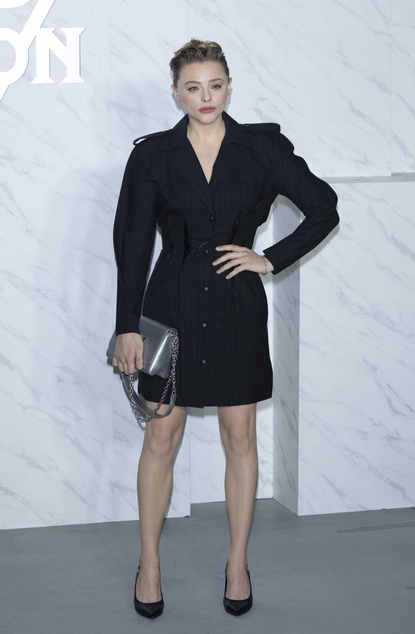 Chloe Moretz Attends the Louis Vuitton South Korea Women's Fashion Show in Seoul 10/31/2019